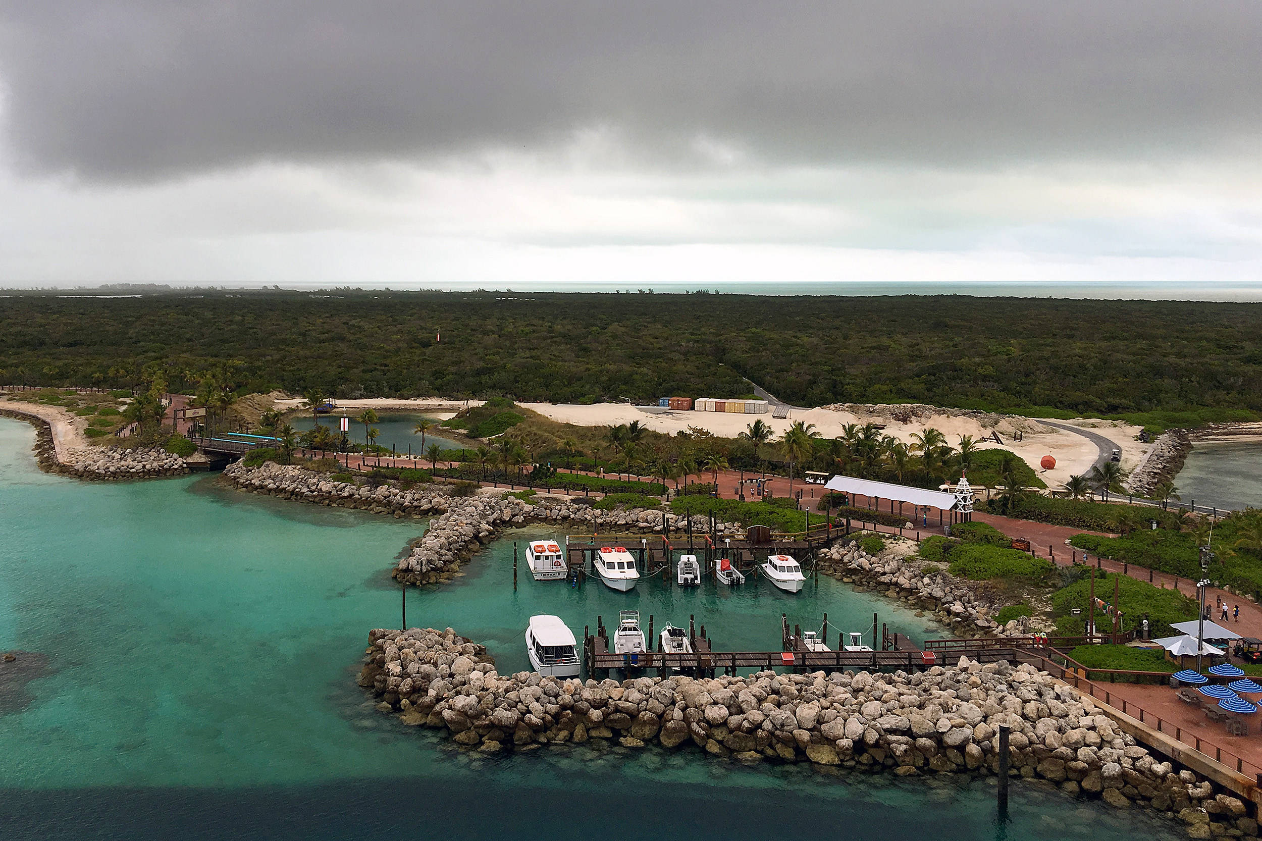 Cloudy Castaway Cay