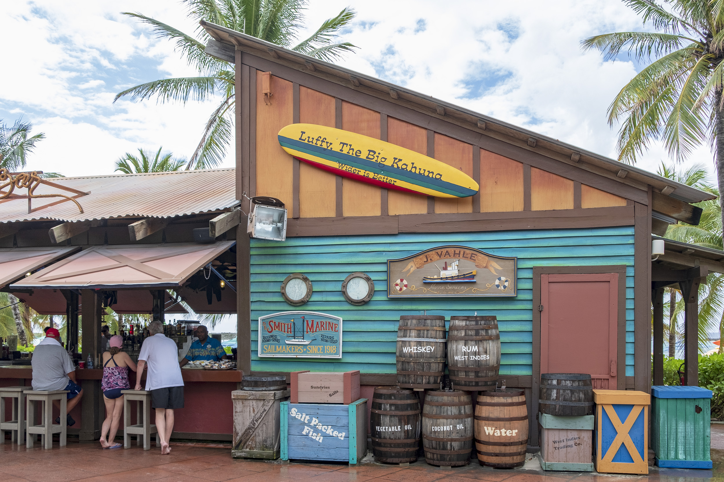 Castaway Cay Conched Out Bar