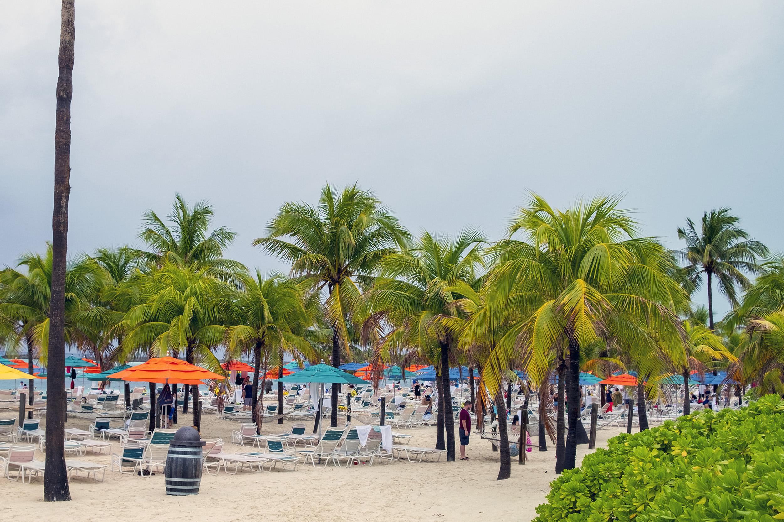 Family Beach Castaway Cay
