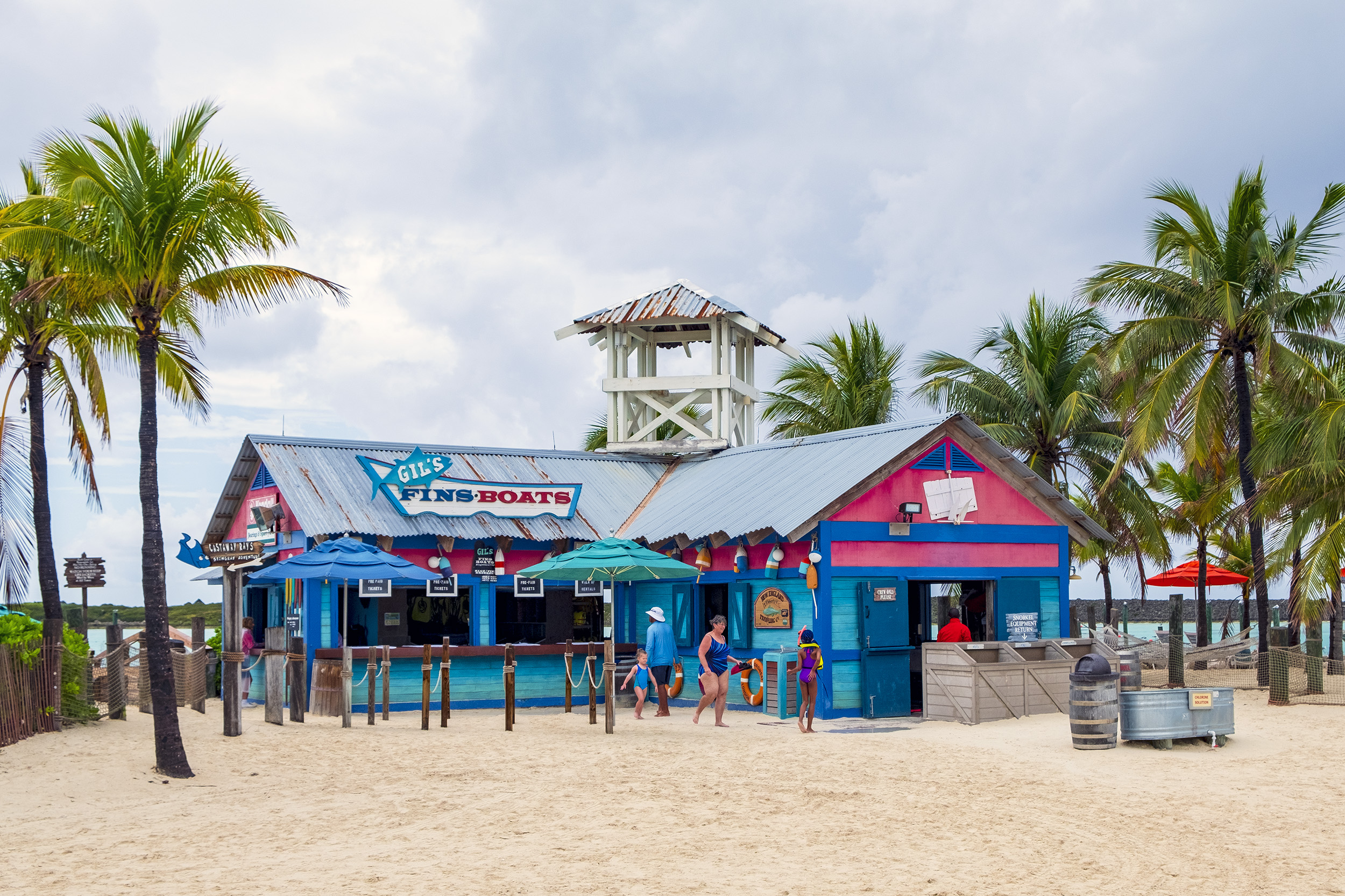 Castaway Cay Gil's Fins & Boats