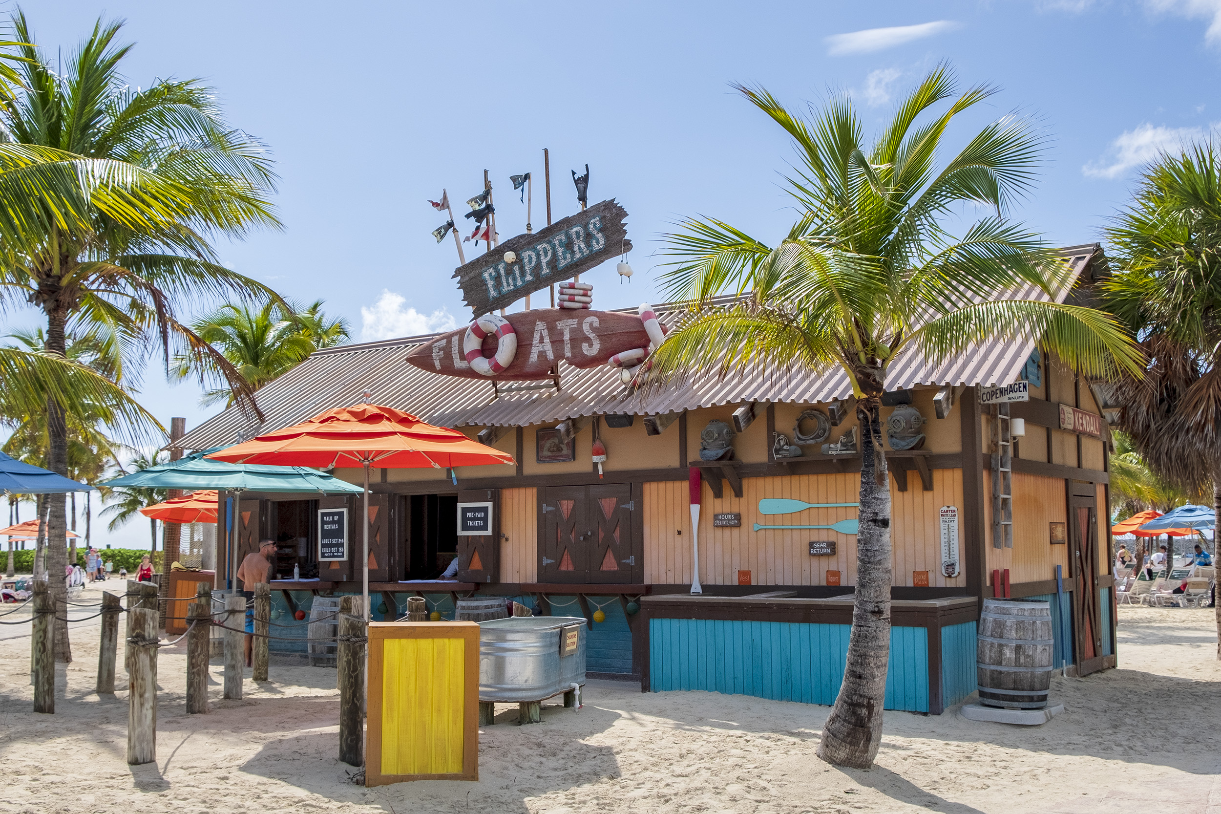 Castaway Cay Flippers Float
