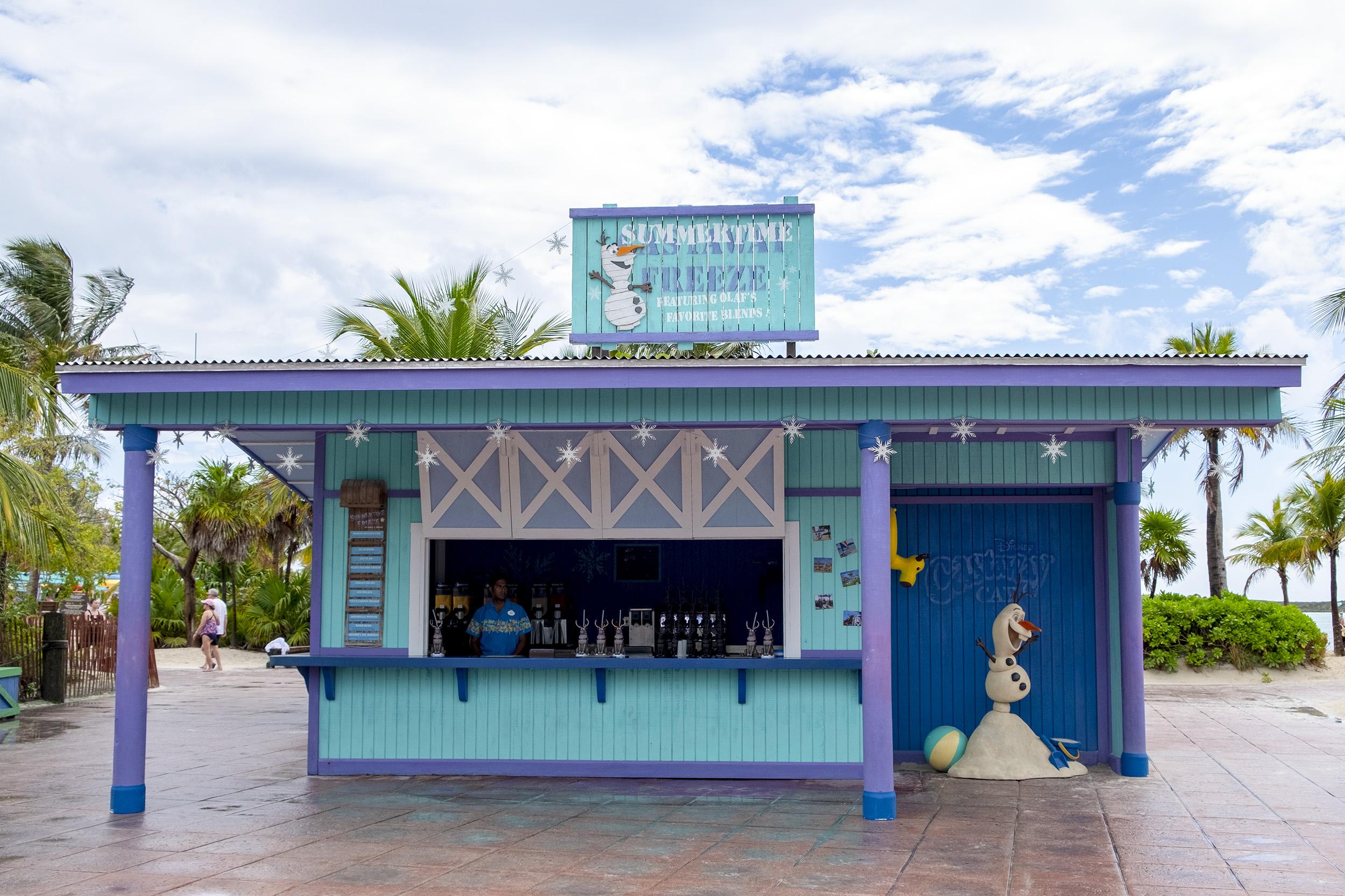 Castaway Cay Summertime Freeze