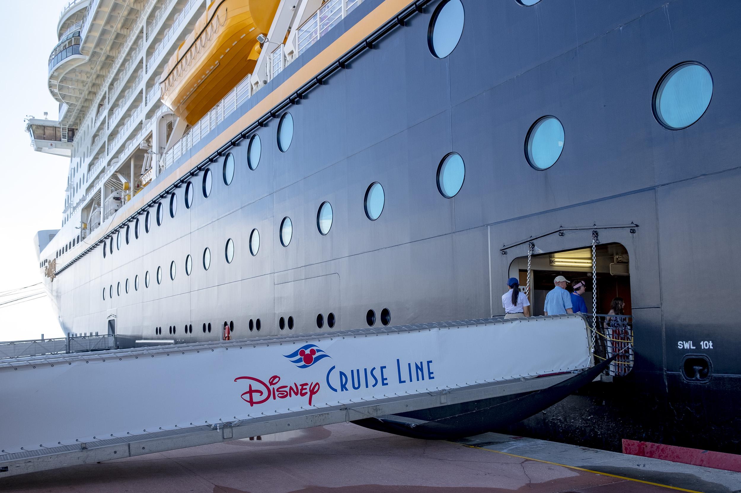 Castaway Cay Gangway Disney Dream Kryssning