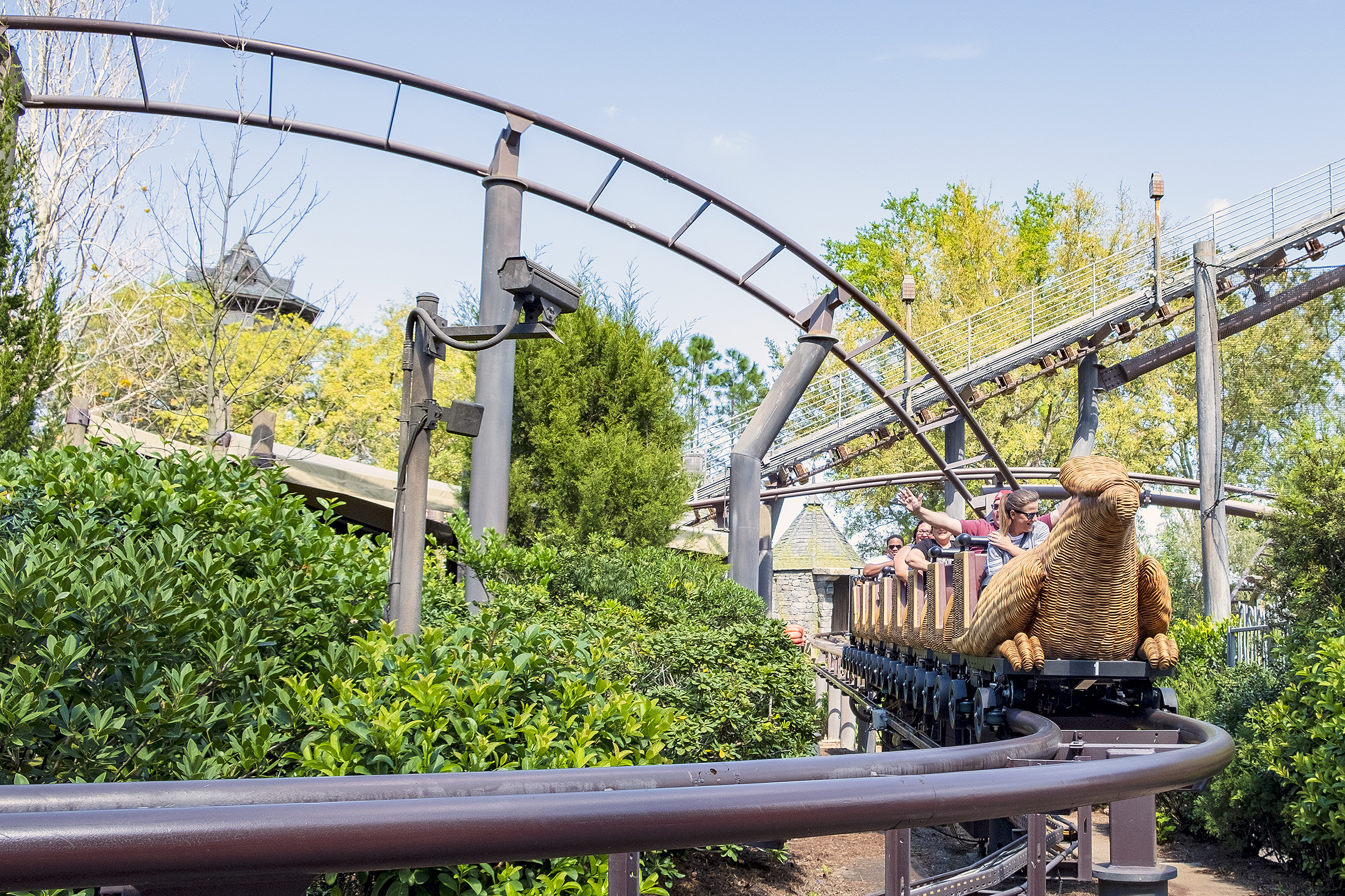 Flight of the Hippogriff The Wizarding World of Harry Potter Orlando