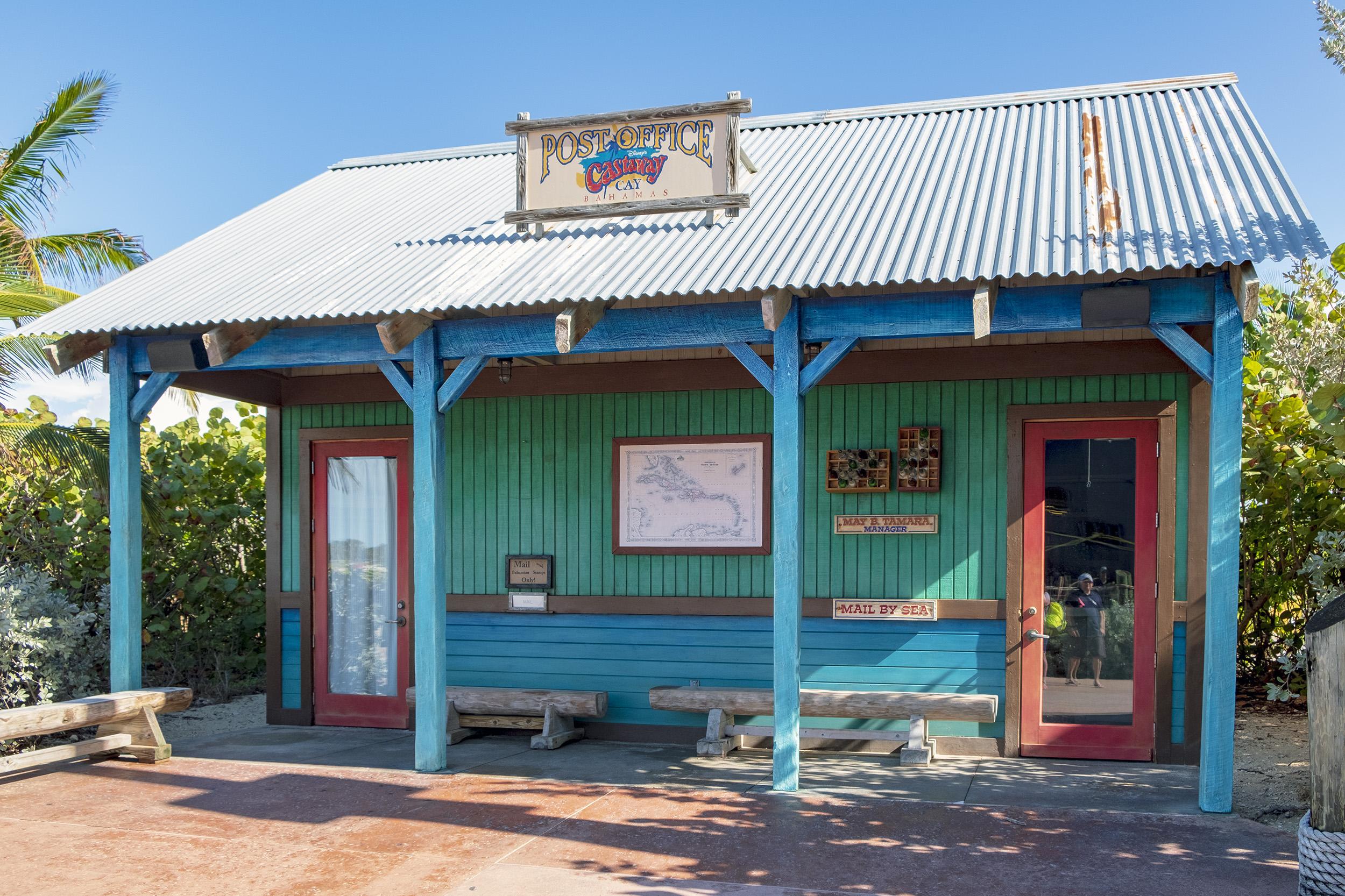 Post office Castaway Cay