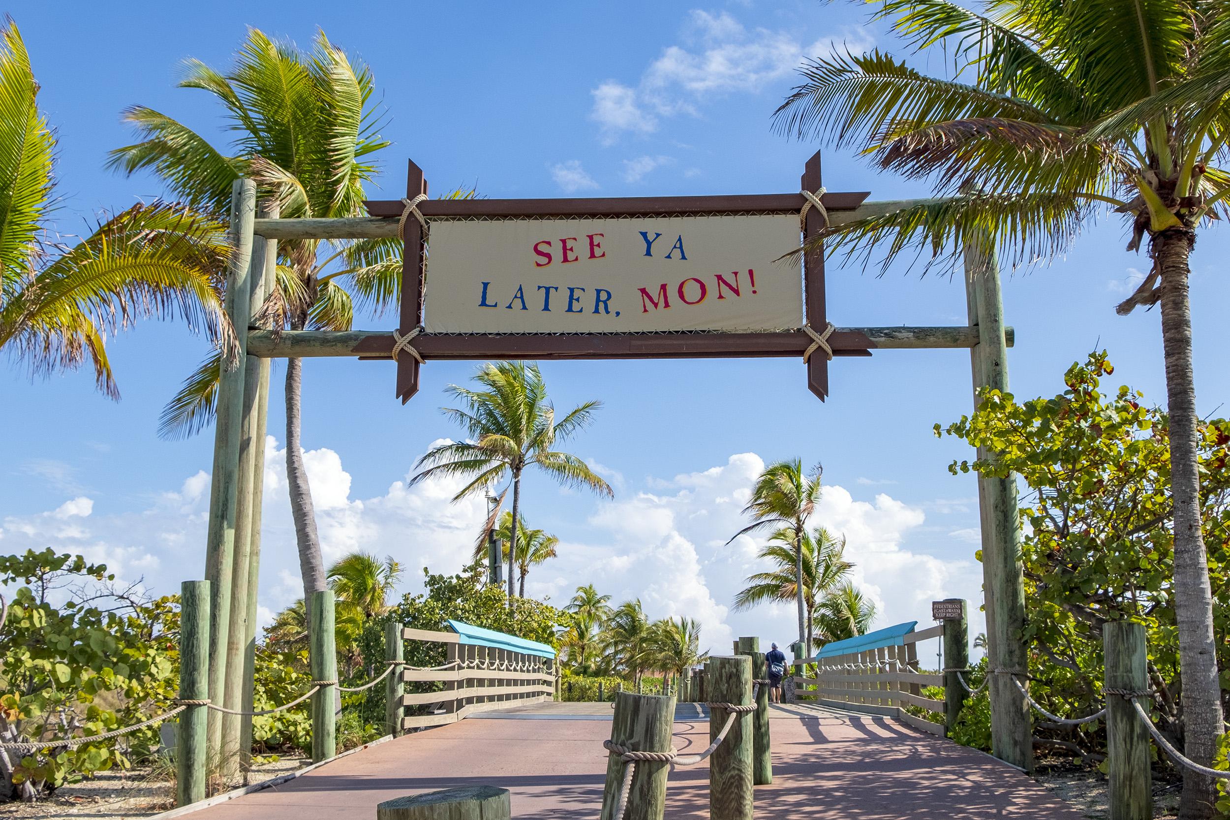 See Ya Later Castaway Cay Bahamas