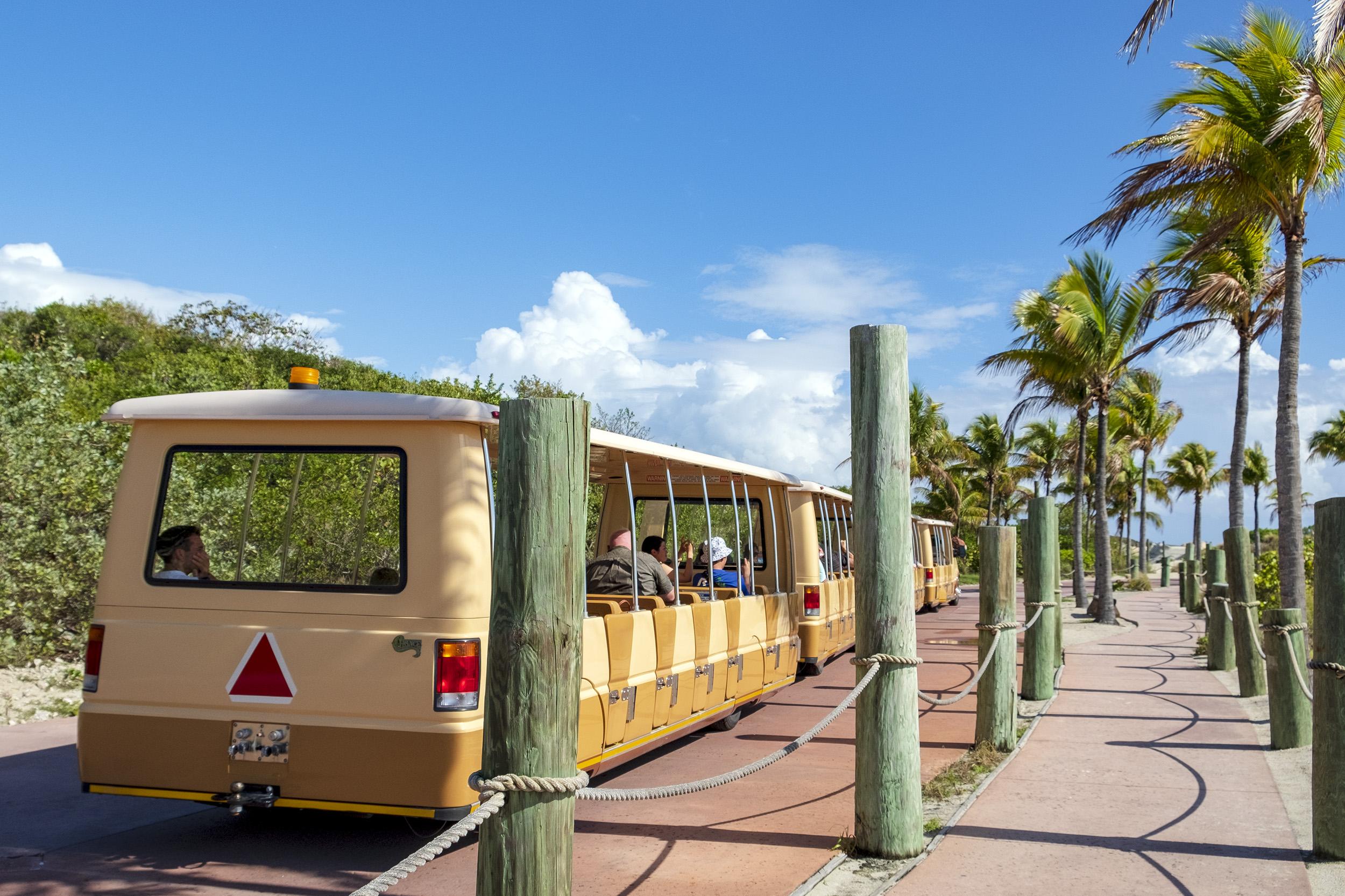 Tram Castaway Cay Bahamas