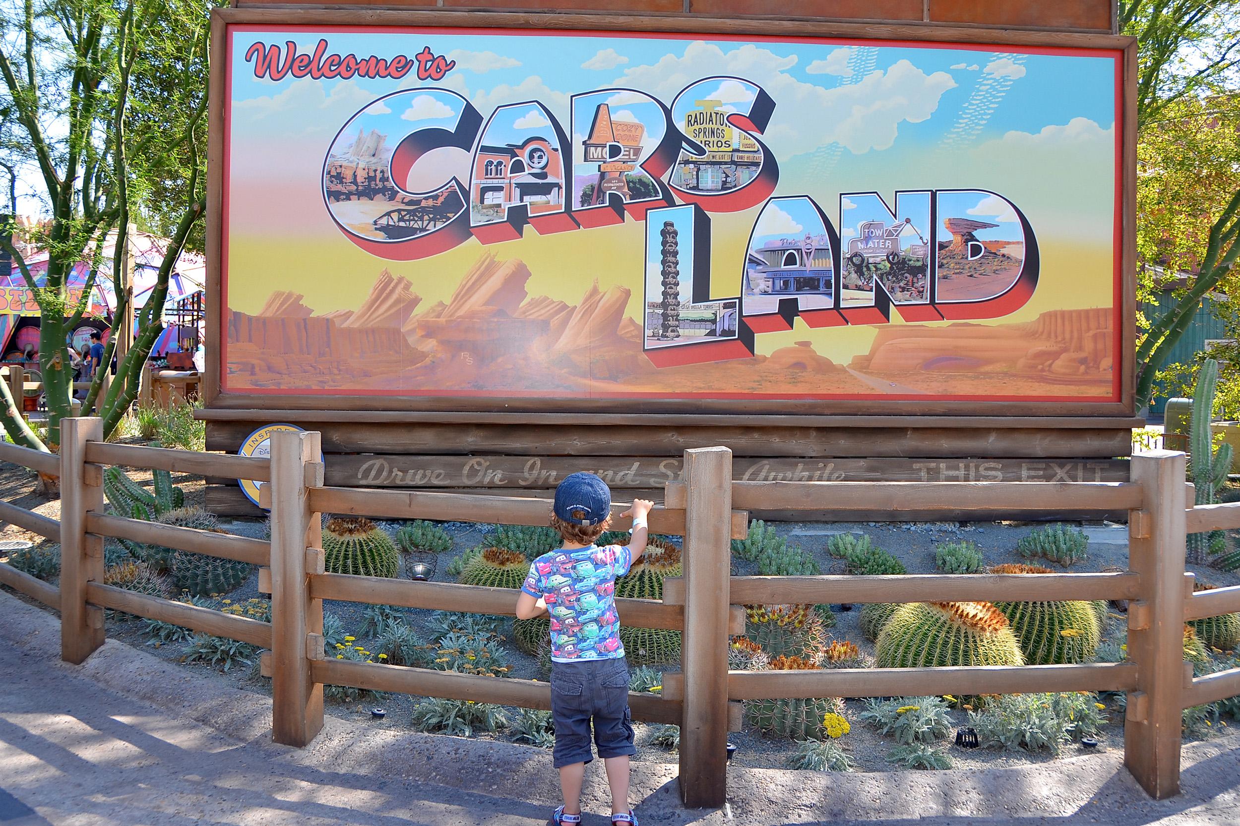 Cars Land California Adventure Disney