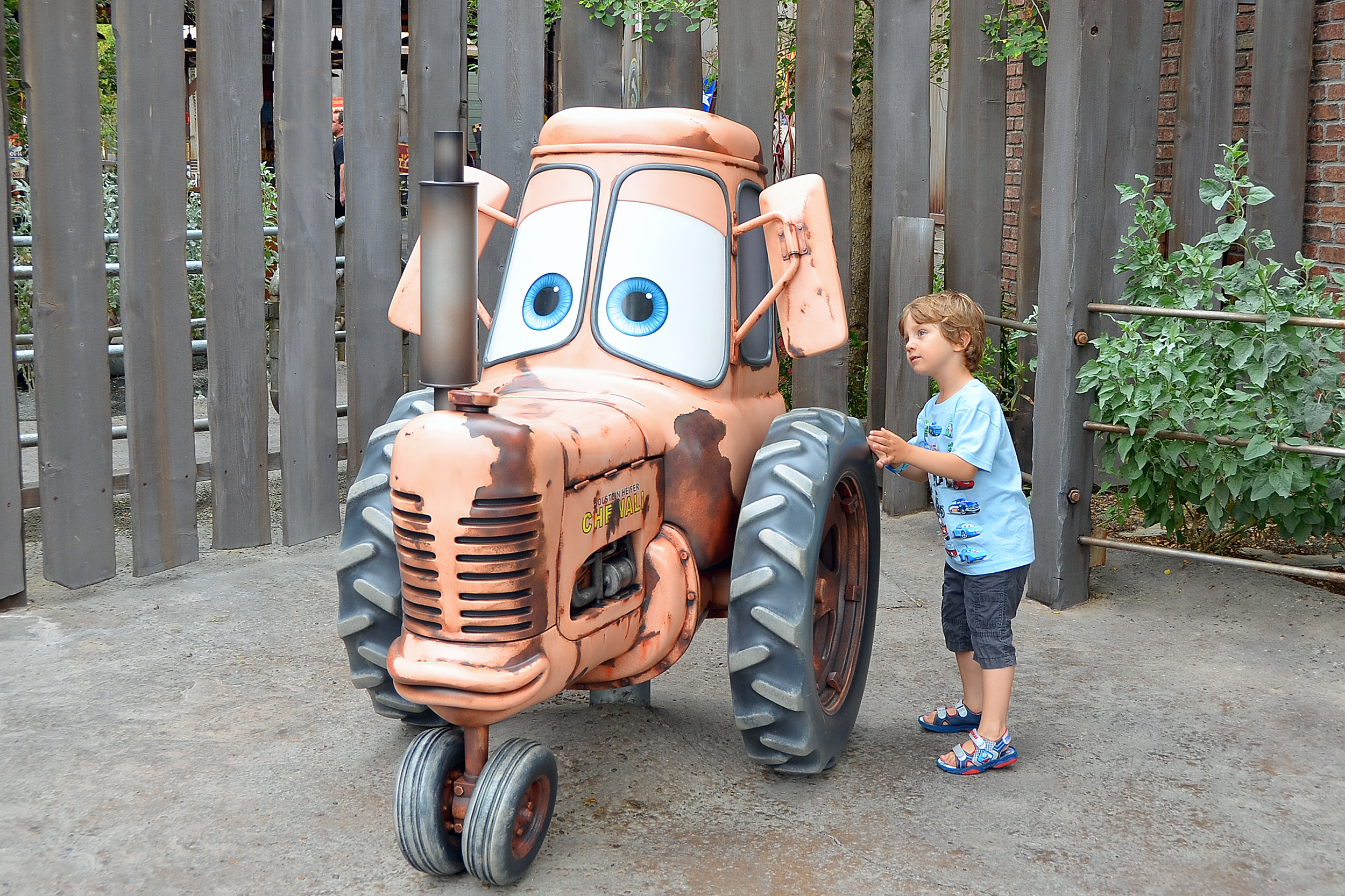 Cars Land Tractor