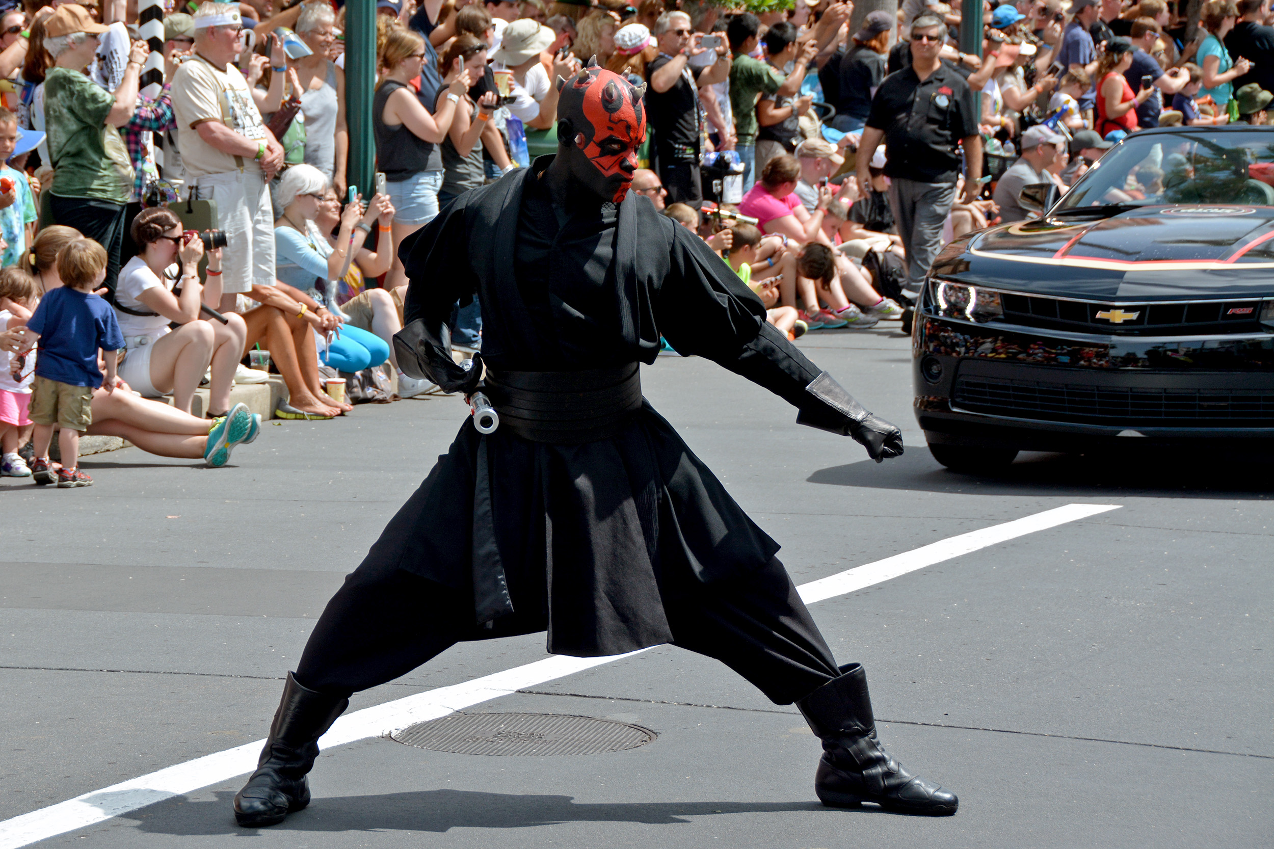 Darth Maul i Star Wars-paraden.