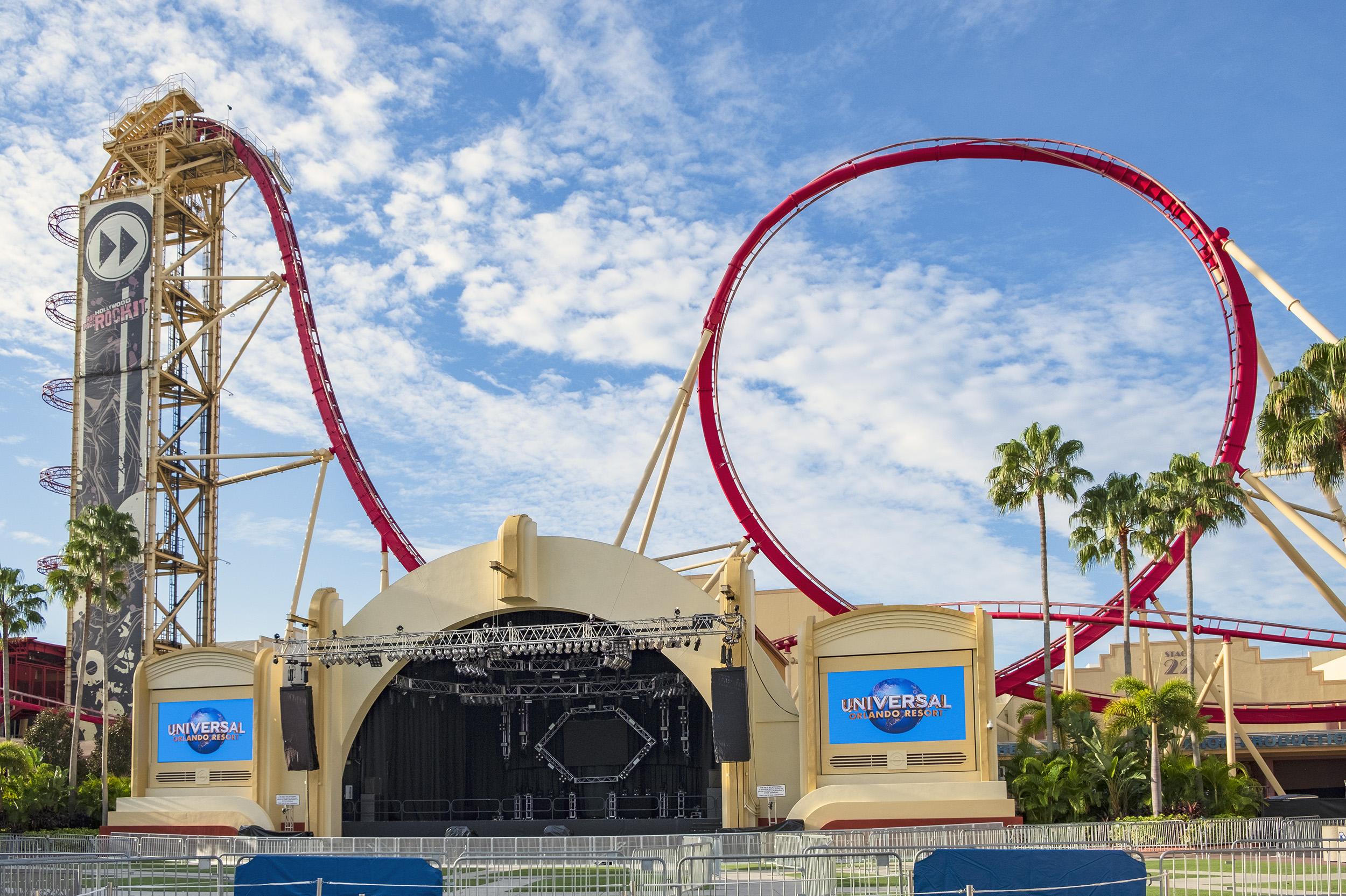 Hollywood Rip Ride Rockit Universal Studios Florida