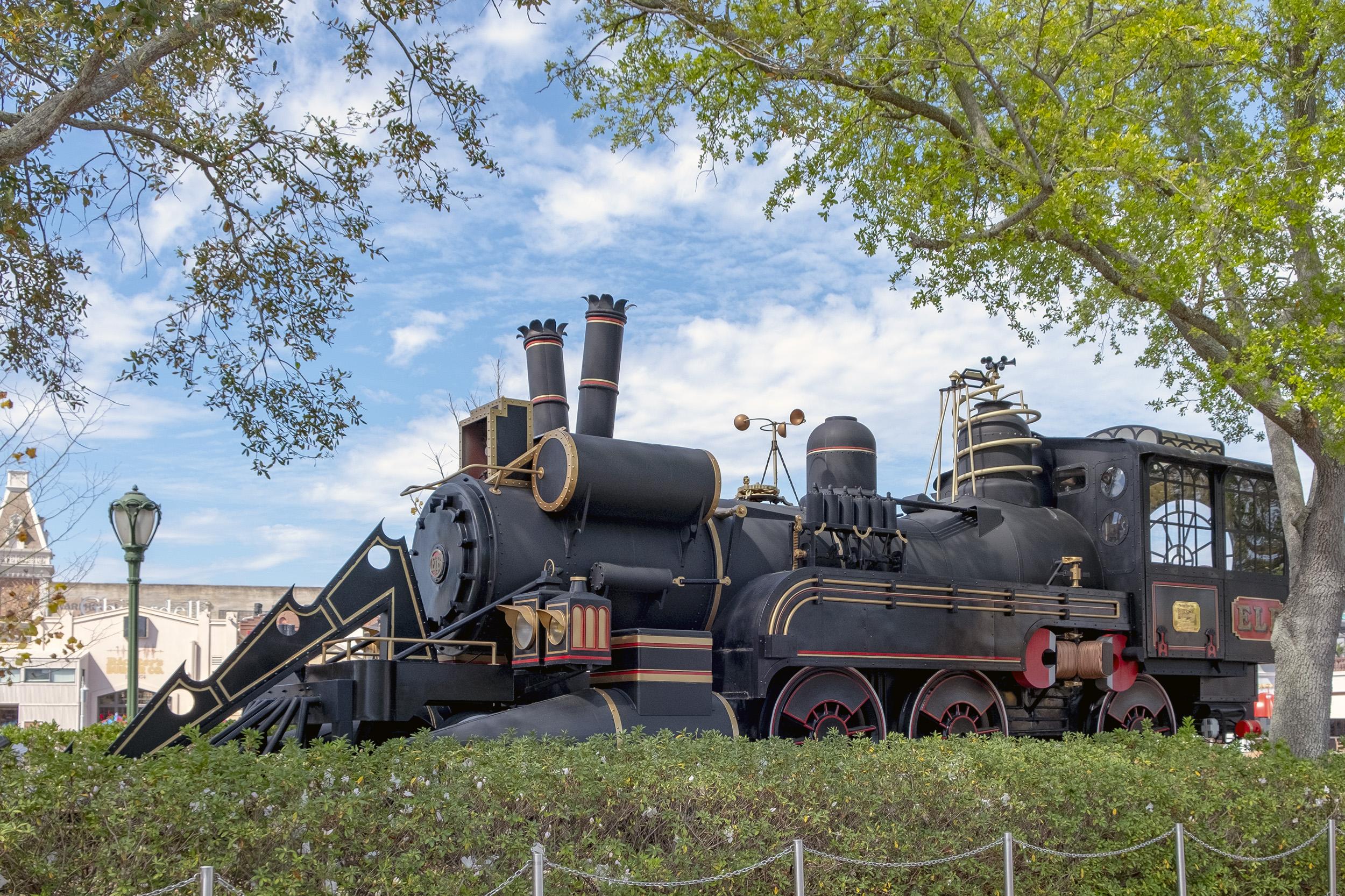 Back to the future train Universal Studios Florida