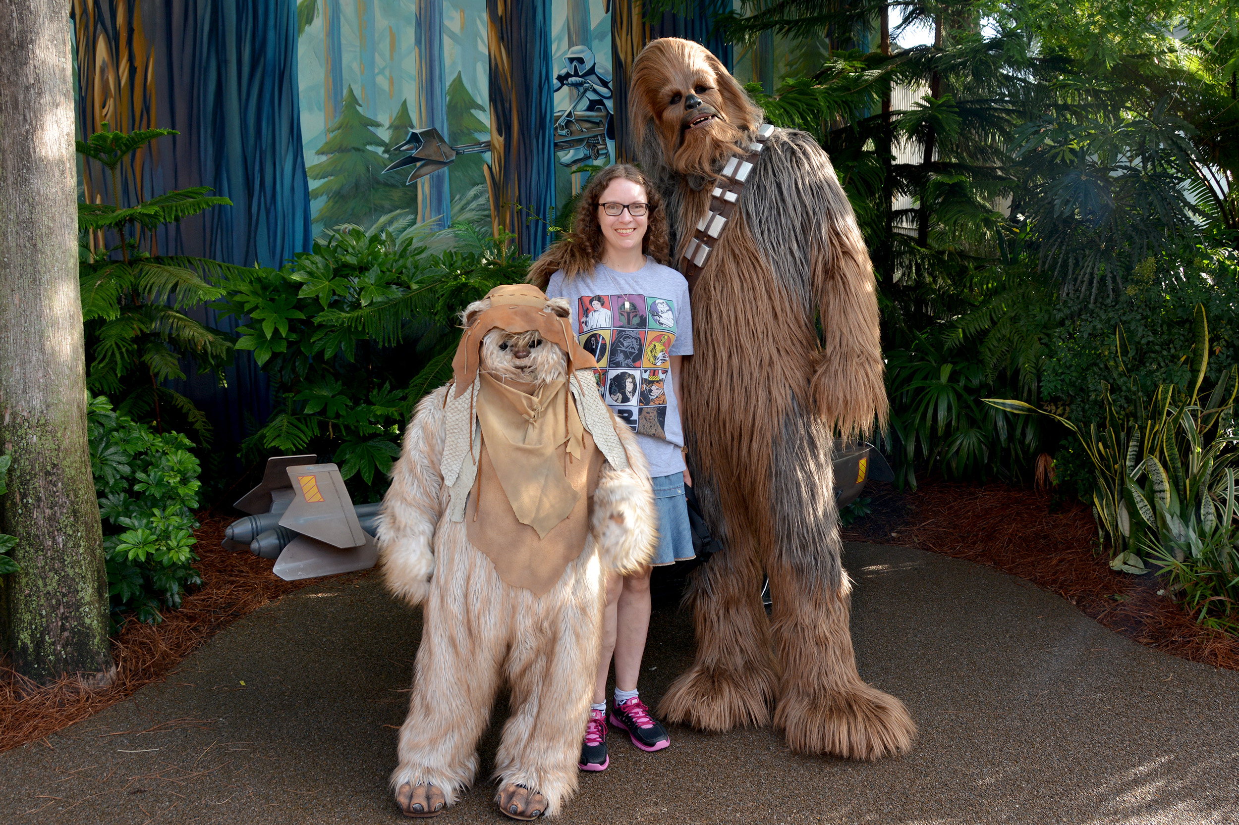Chewbacca star wars weekends
