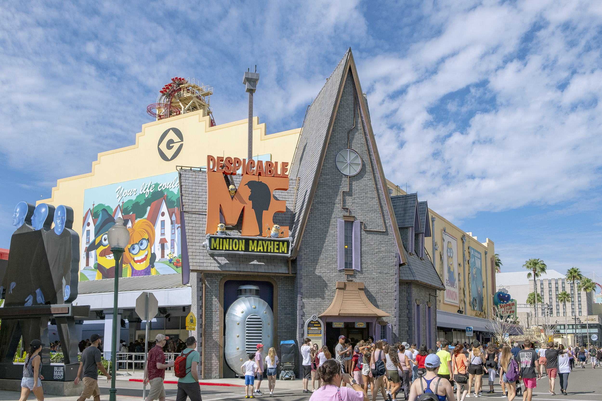 Despicable Me Minion Mayhem Universal Studios Florida