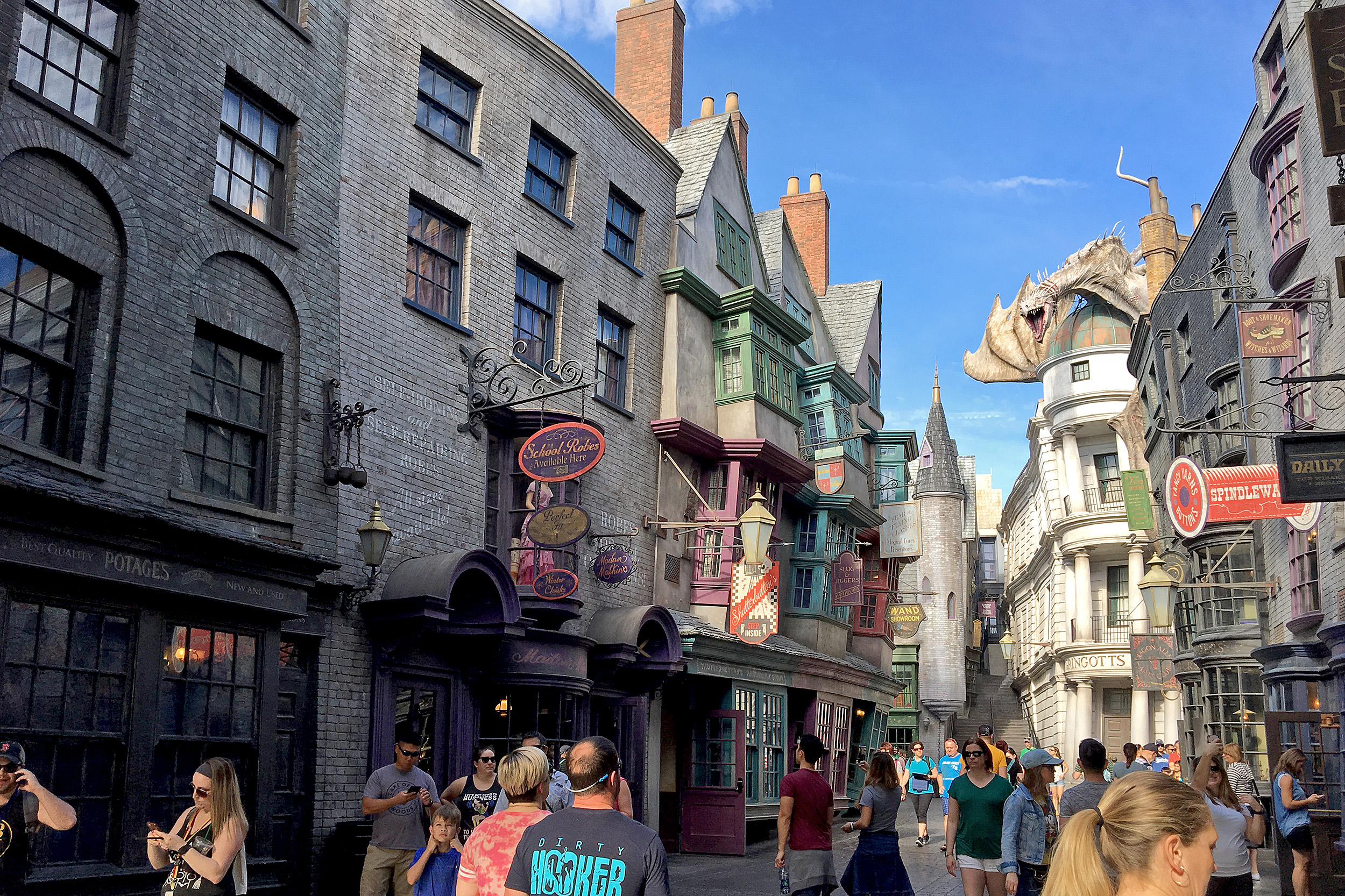 Diagon Alley i The Wizarding World of Harry Potter Universal Studios Florida