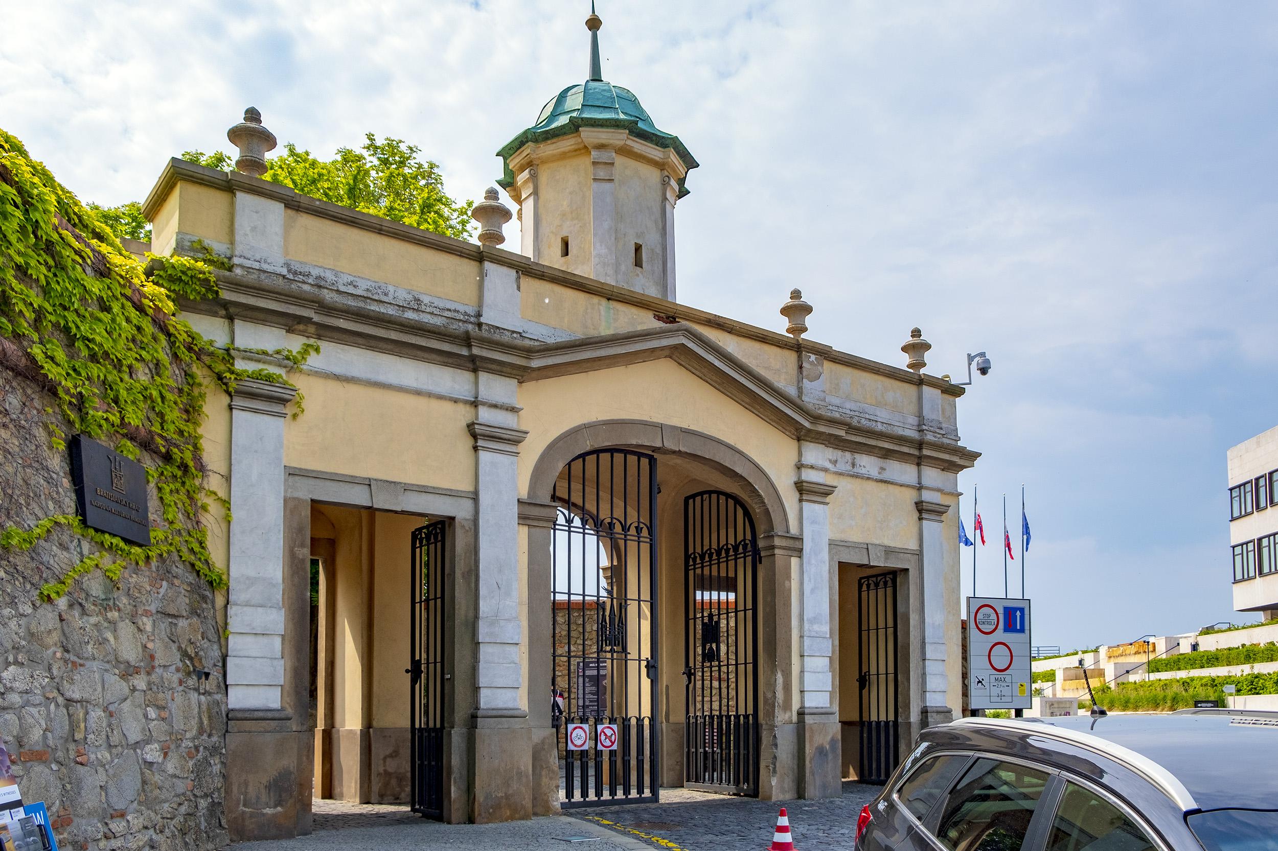 Vienna Gate Bratislava Slovakien