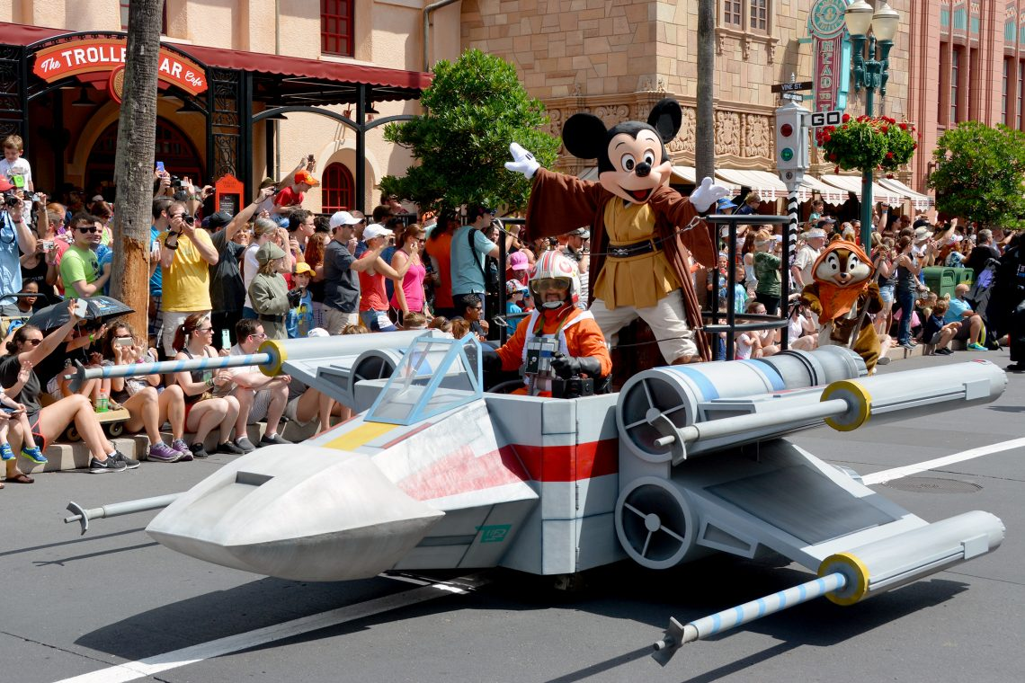 Mickey Mouse Star Wars Weekend 2015