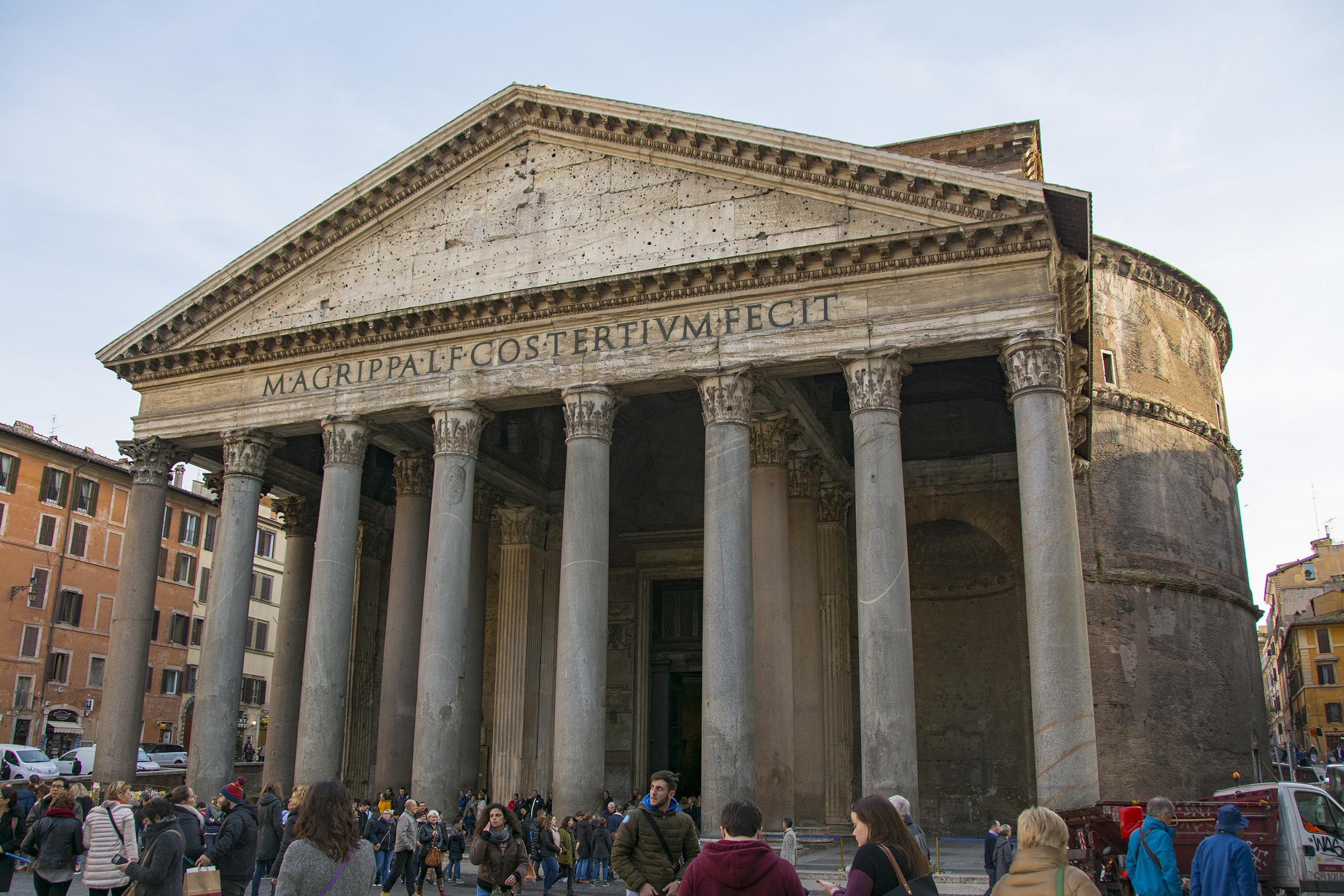 Pantheon Tio bästa tips weekend i Rom