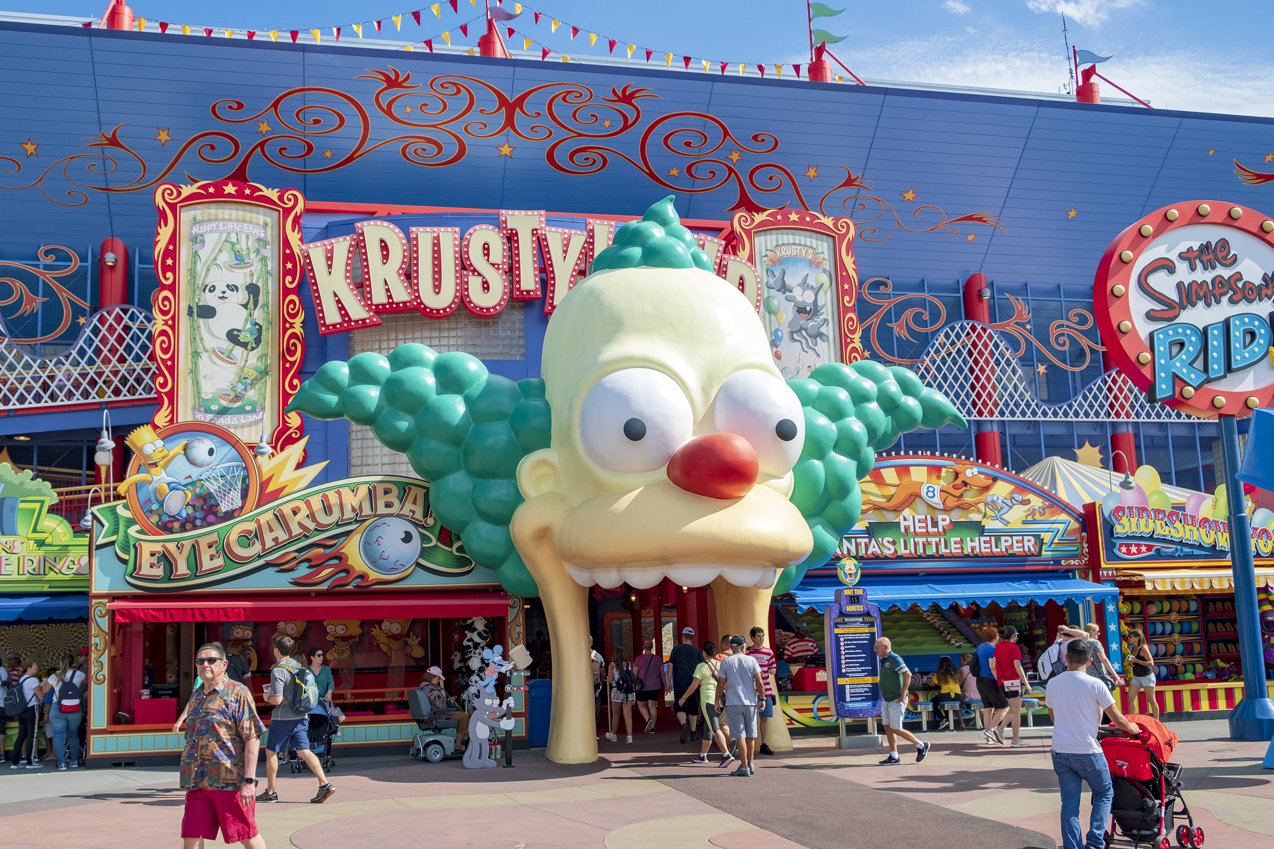 The Simpsons Ride Universal Studios Florida Åkattraktioner