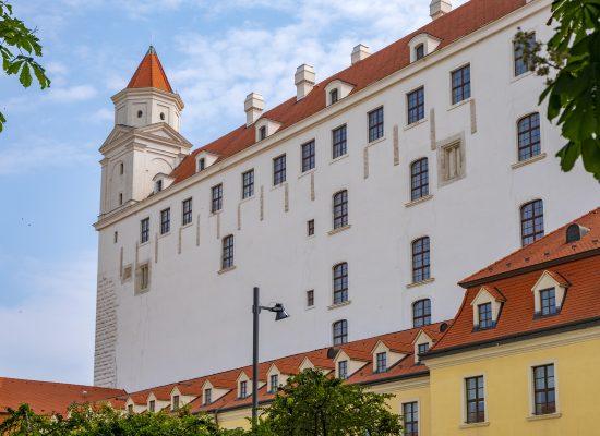 Slottet i Bratislava castle slovakien