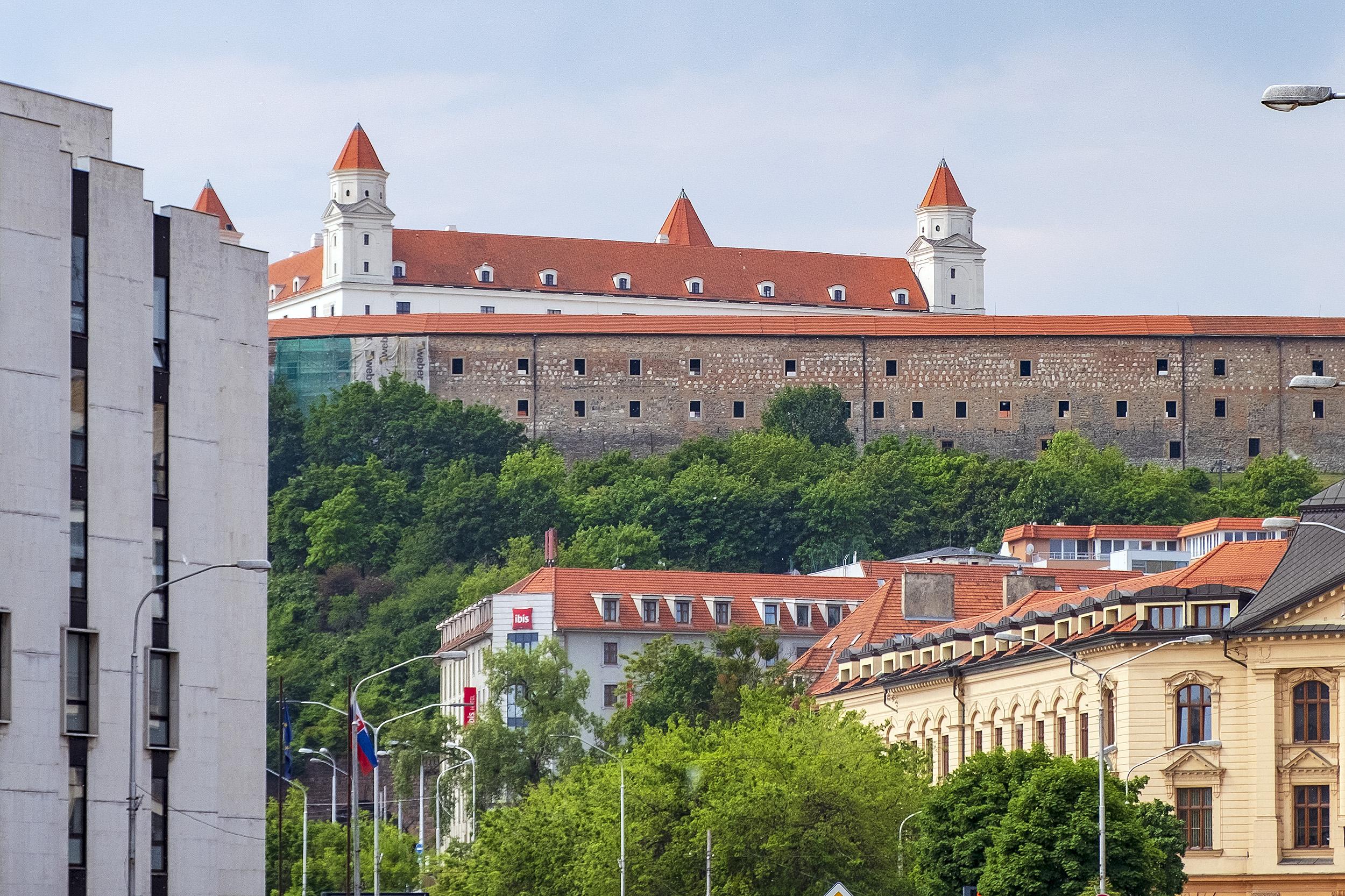 Slottet i Bratislava