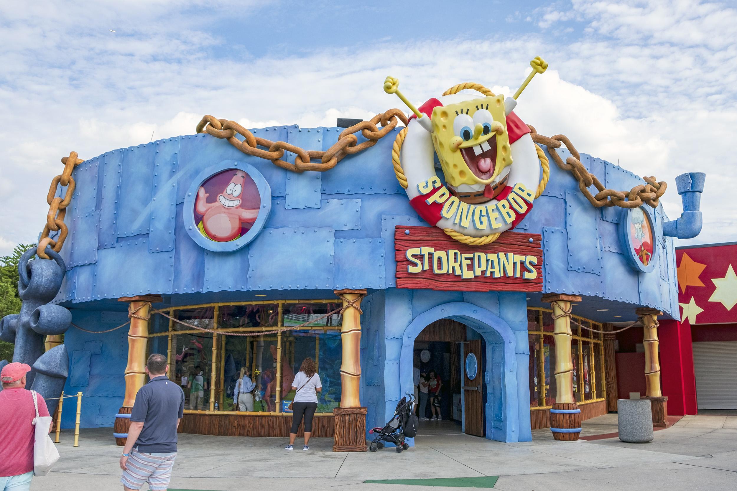 Spongebob Storepants Universal Studios Florida