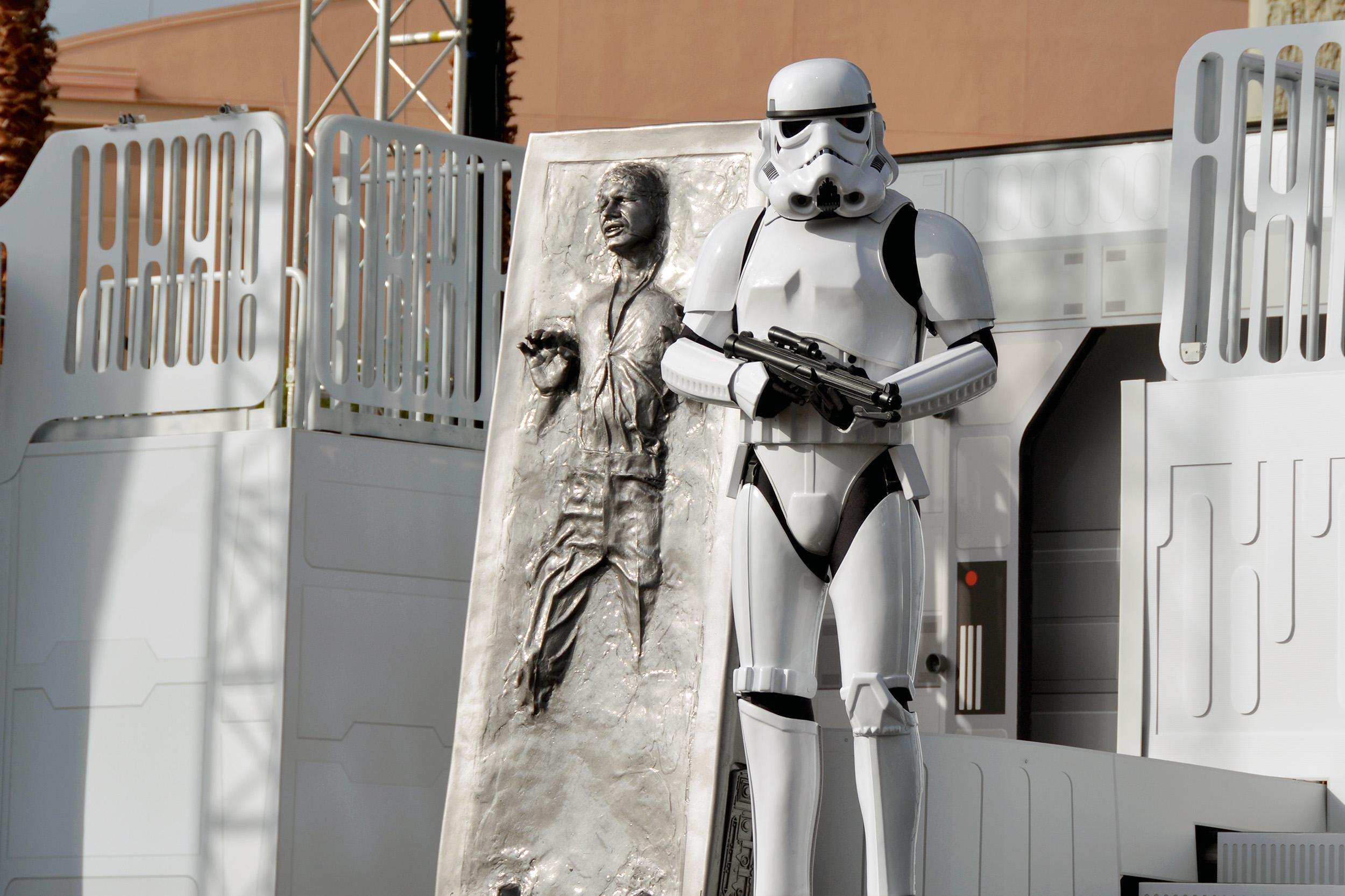 Stormtrooper Han Solo Starwars