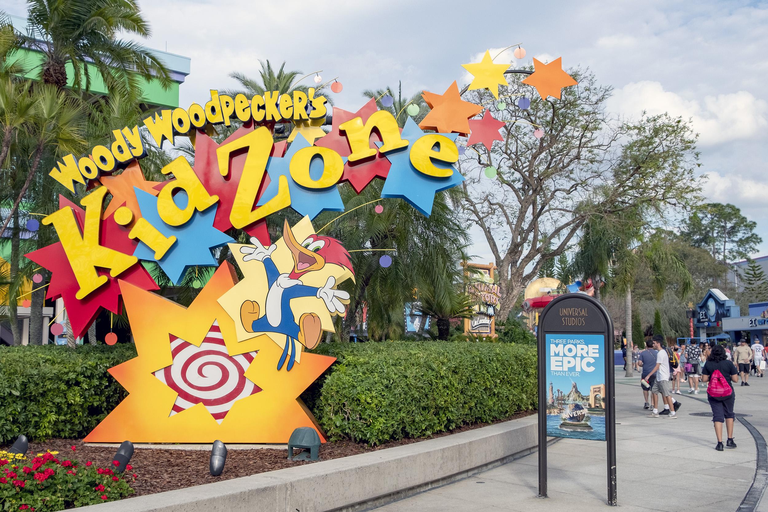 Woody Woodpeckers Kid Zone Universal Studios Florida