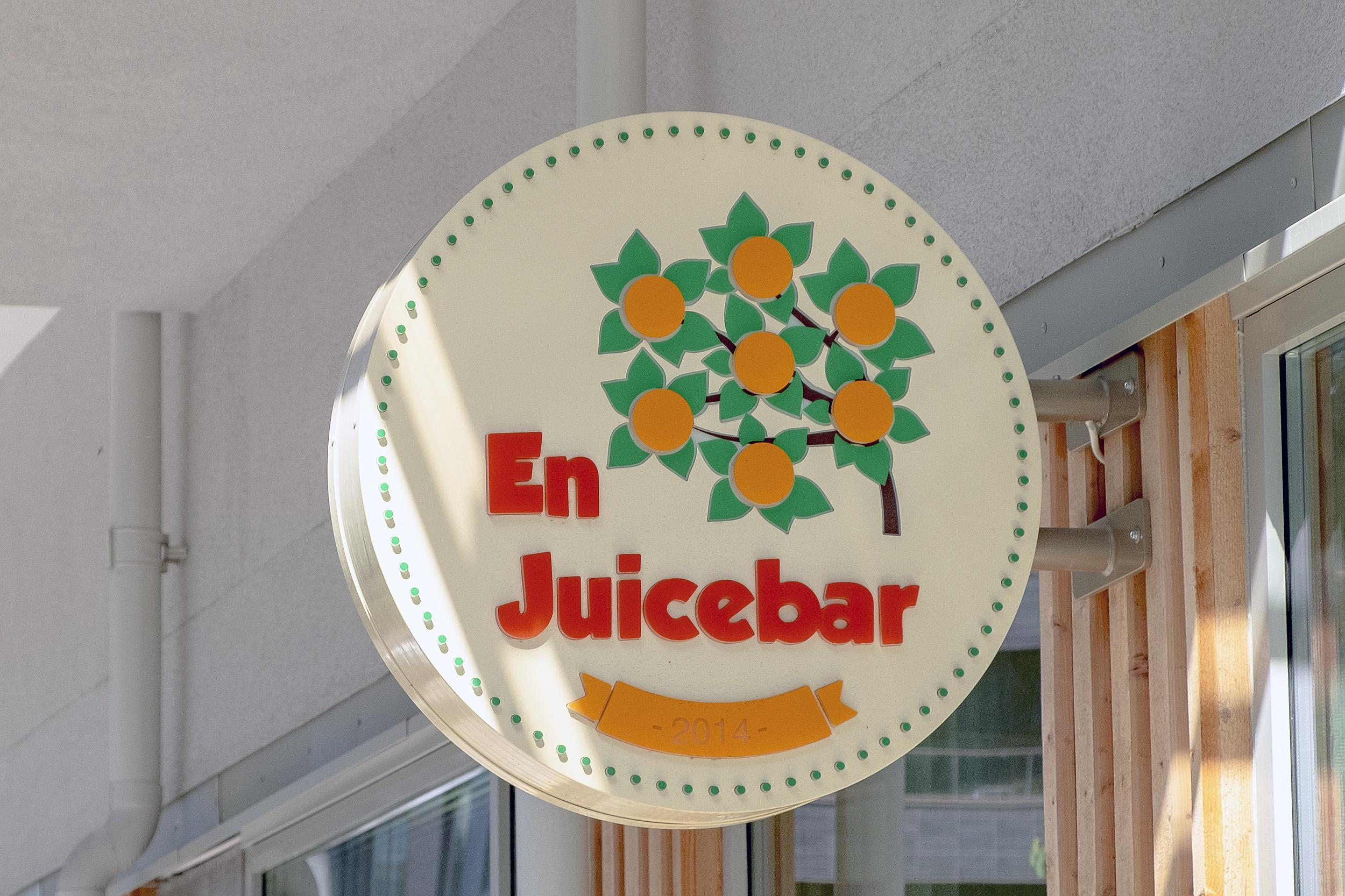 En juicebar Hammarby sjöstad