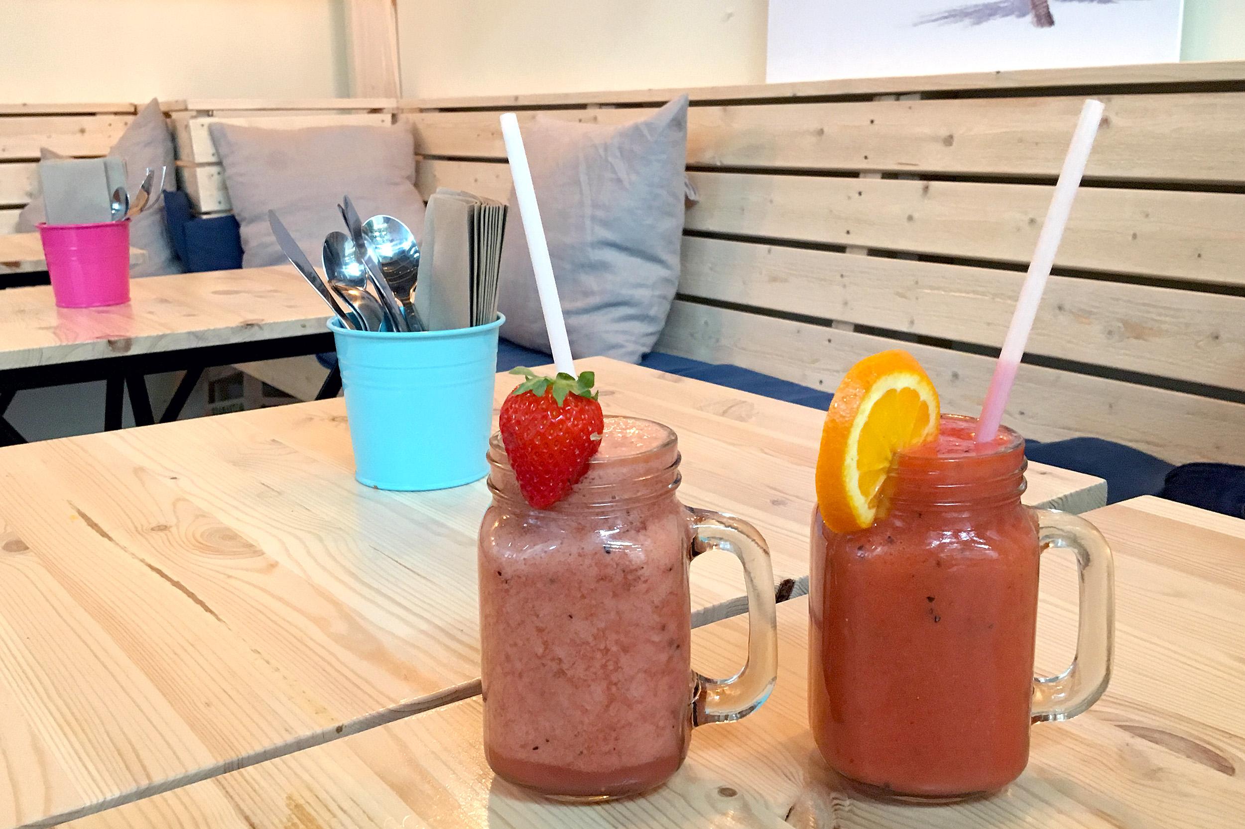 Juice En juicebar Hammarby sjöstad
