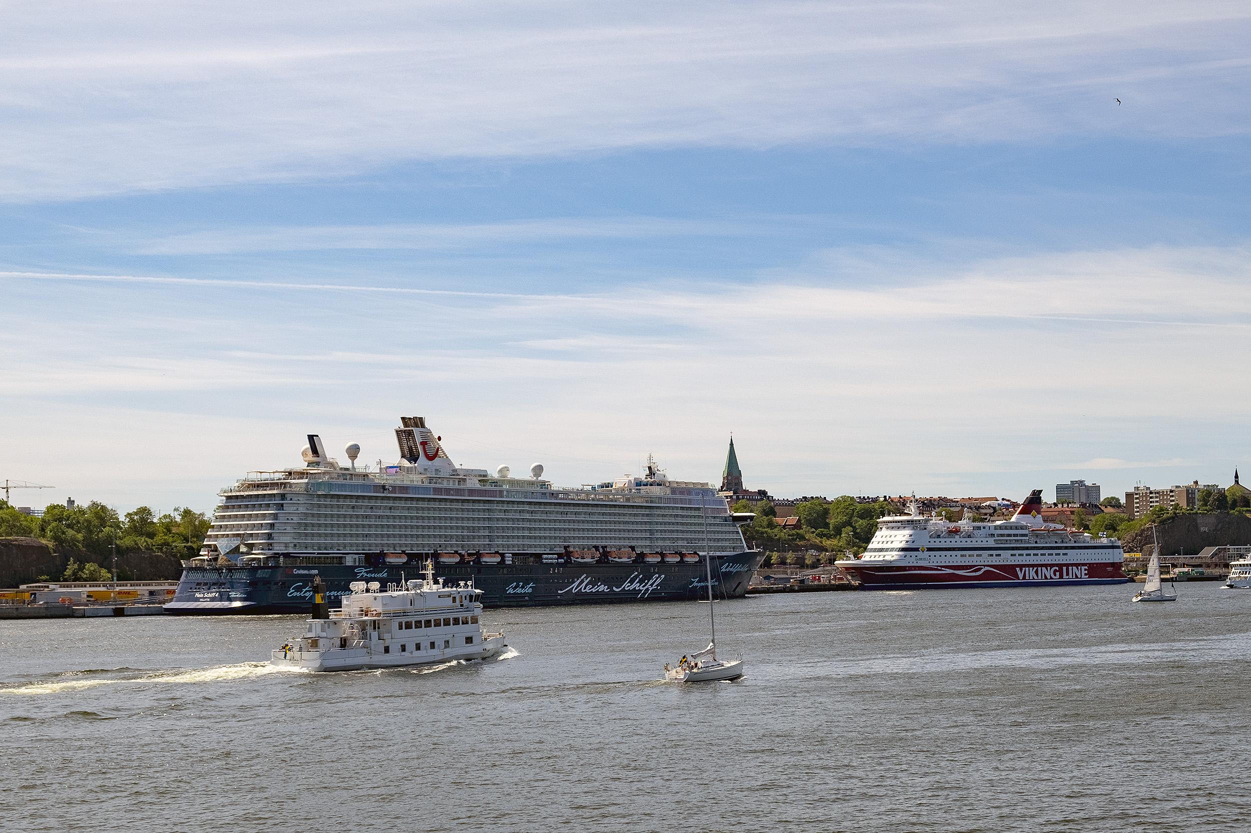 Prins Eugens Waldemarsudde båtar