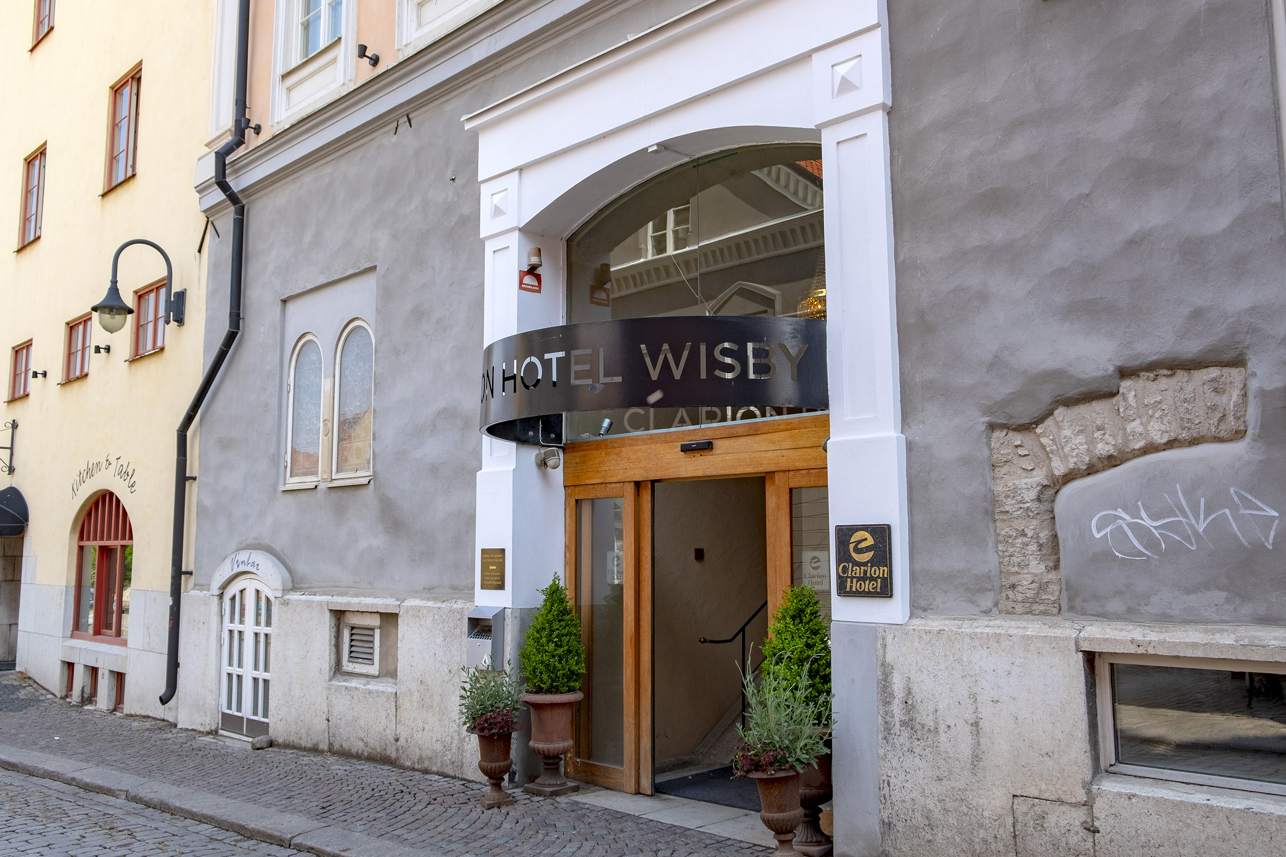 Clarion Hotel Wisby entré