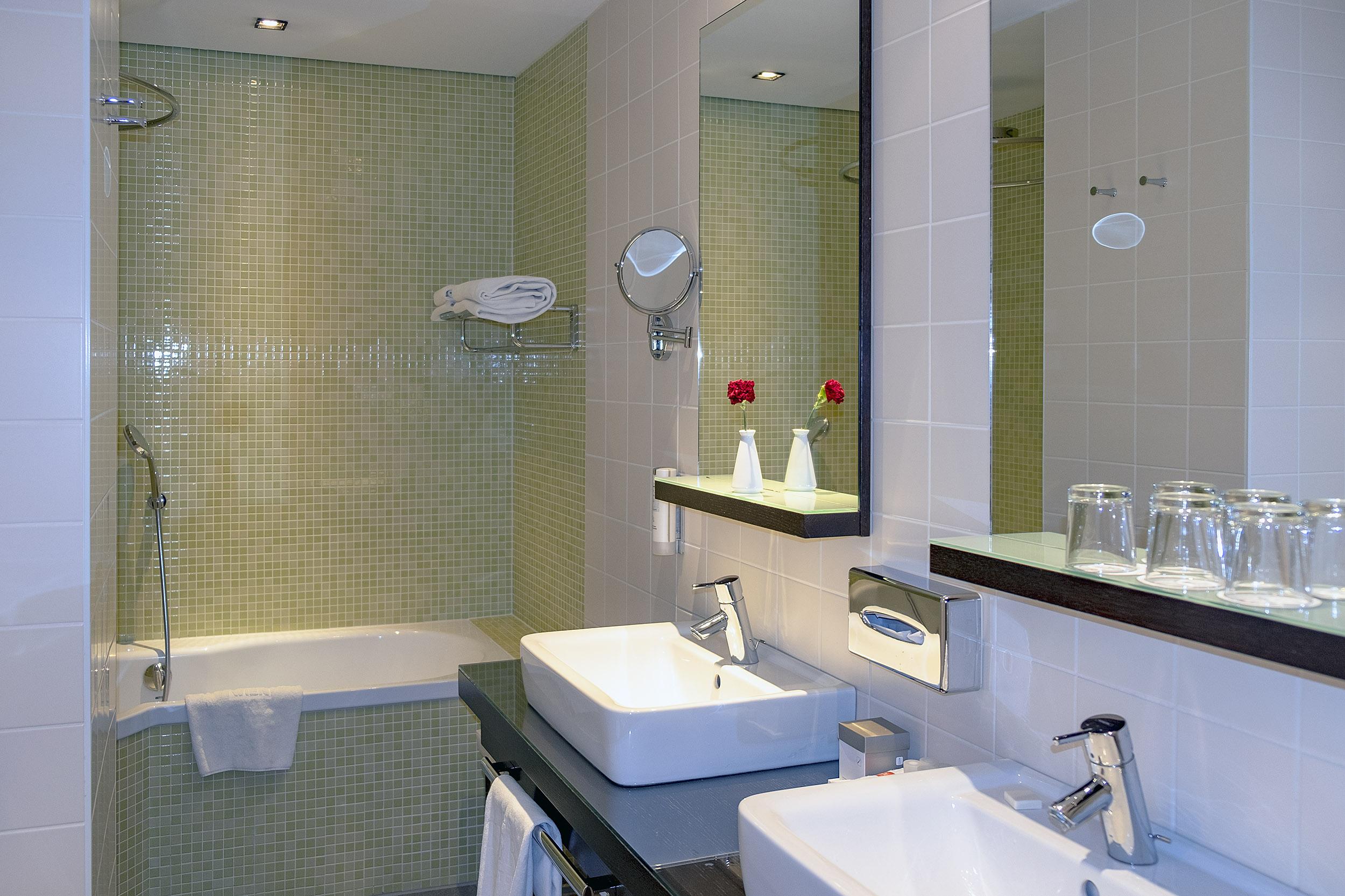 Hotel Das Tigra Wien Badrum