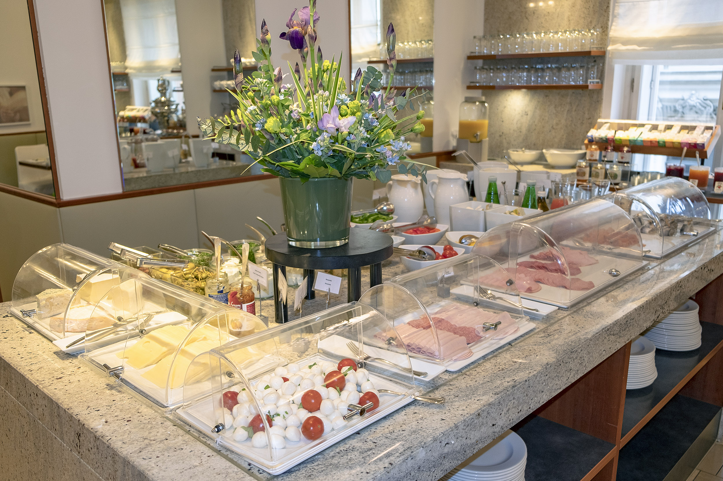 Hotel Das Tigra Wien Frukost