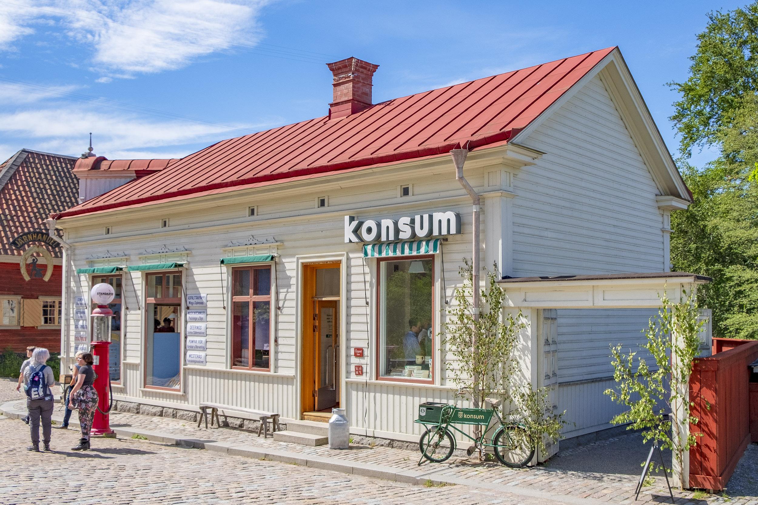 Stockholm med barn Konsum Skansen