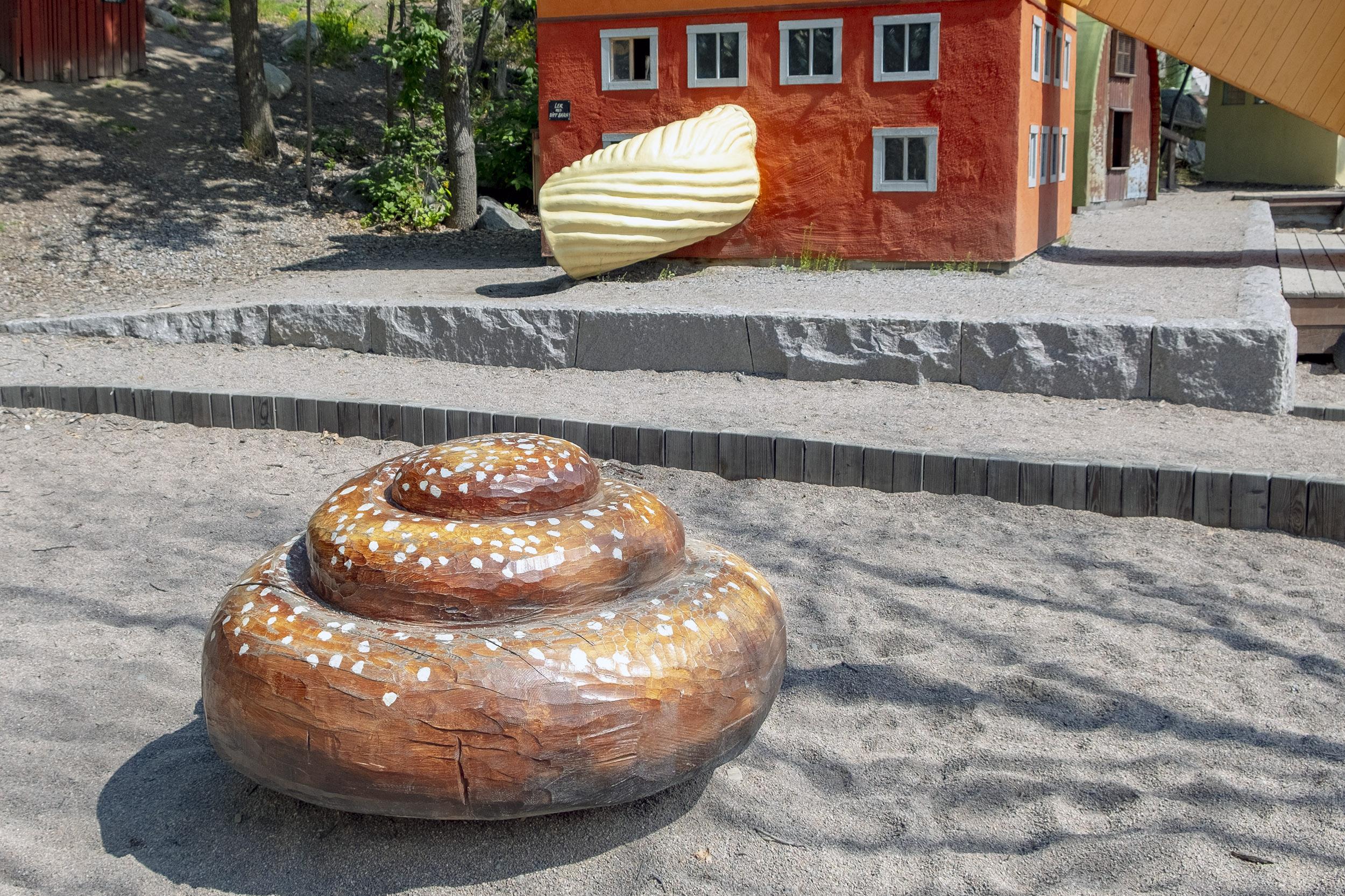 Lilla Kvarnholmen lekplats bulle