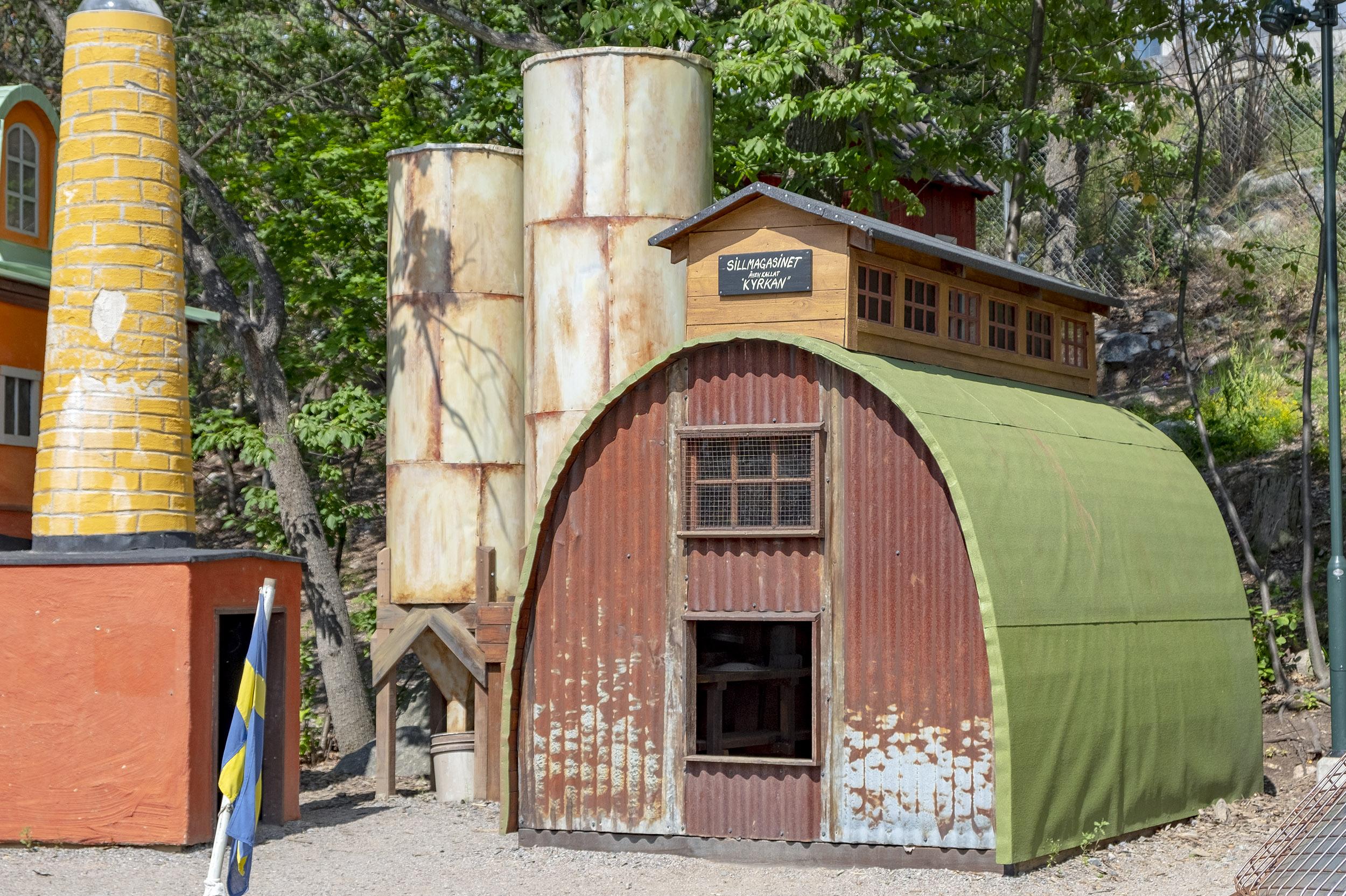 Lilla kvarnholmen lekplats sillmagasinet