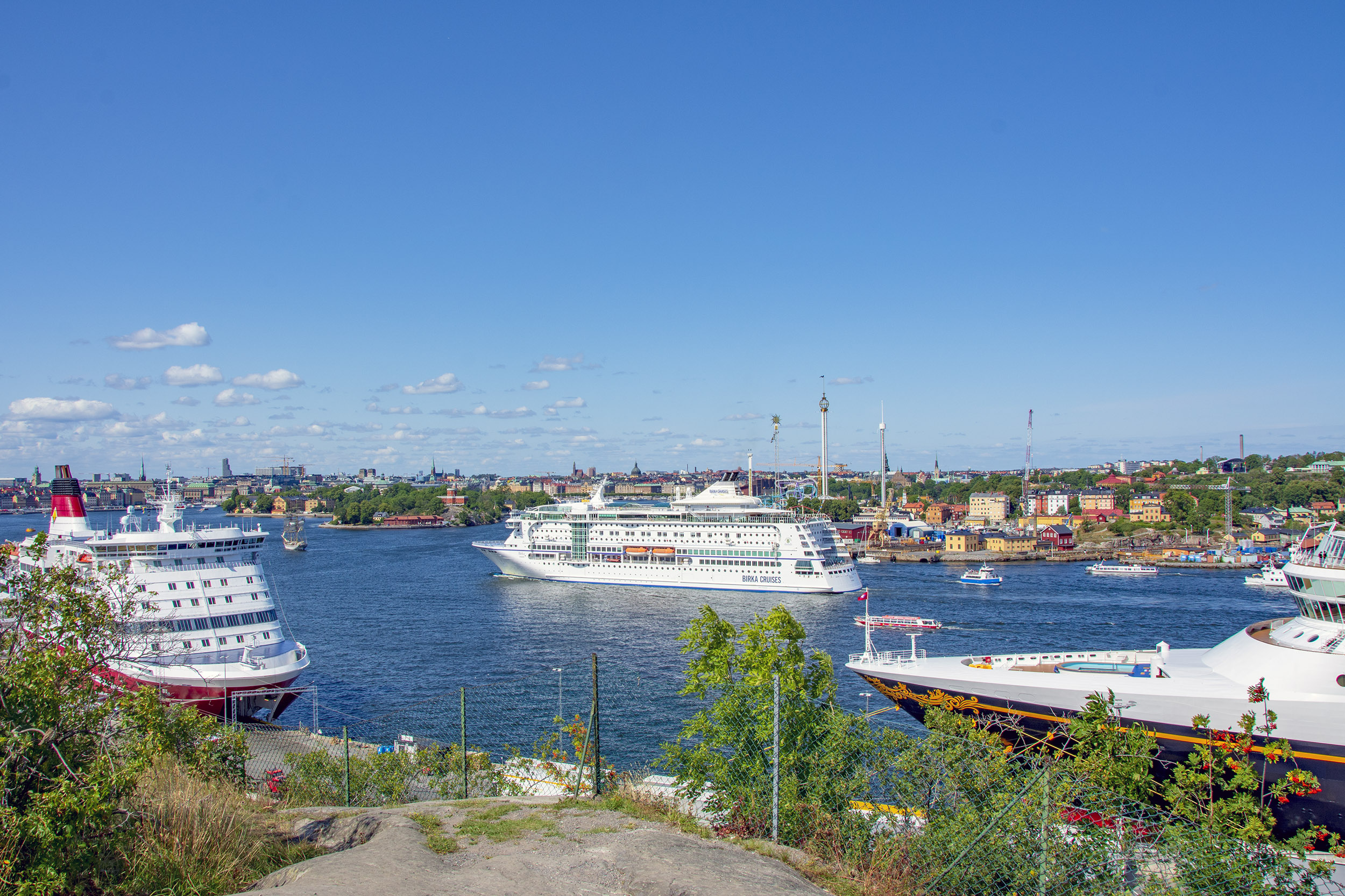 Disney Magic Stockholm VIking Line Birka Cruises