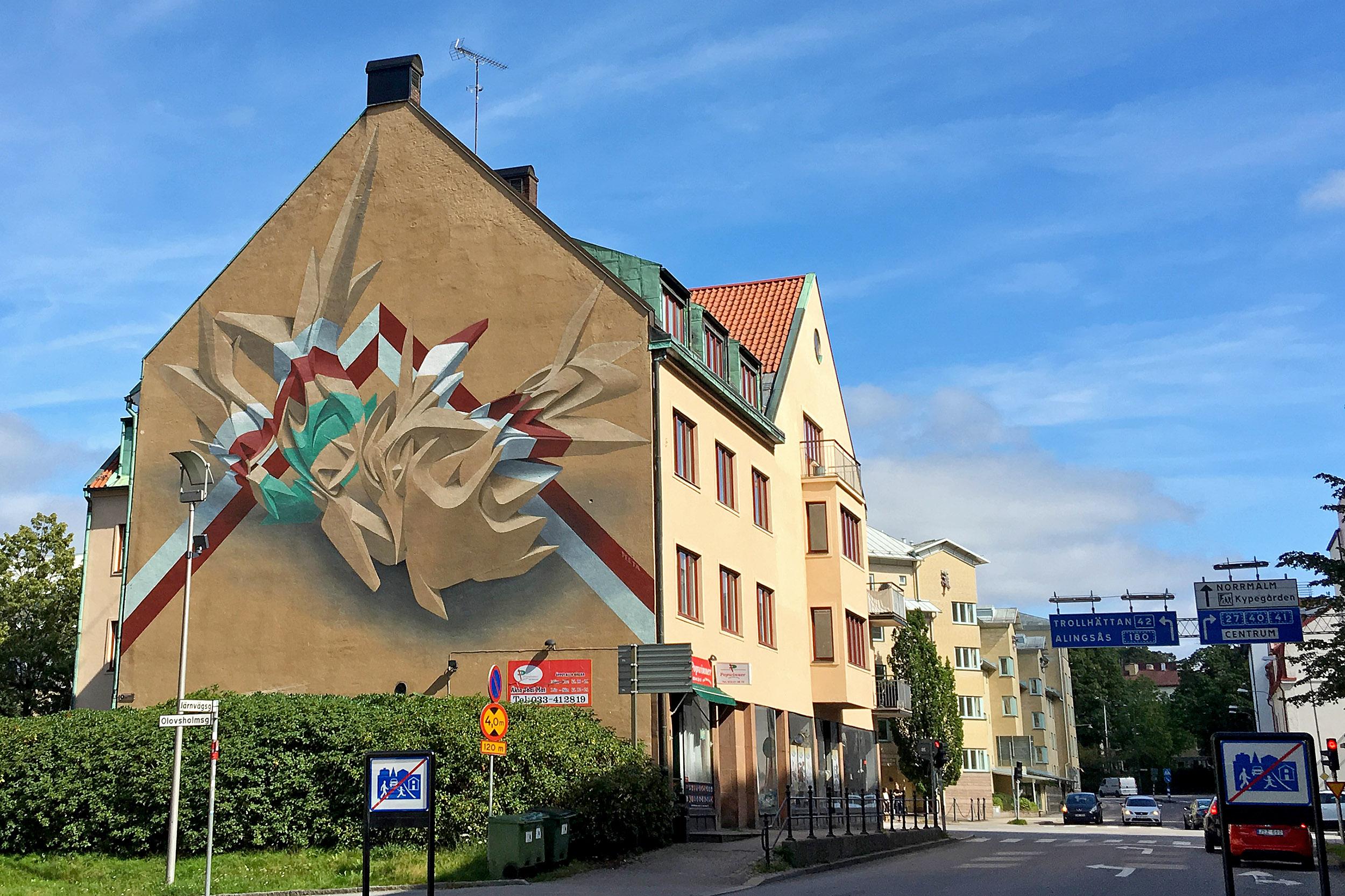 Peeta Street art borås