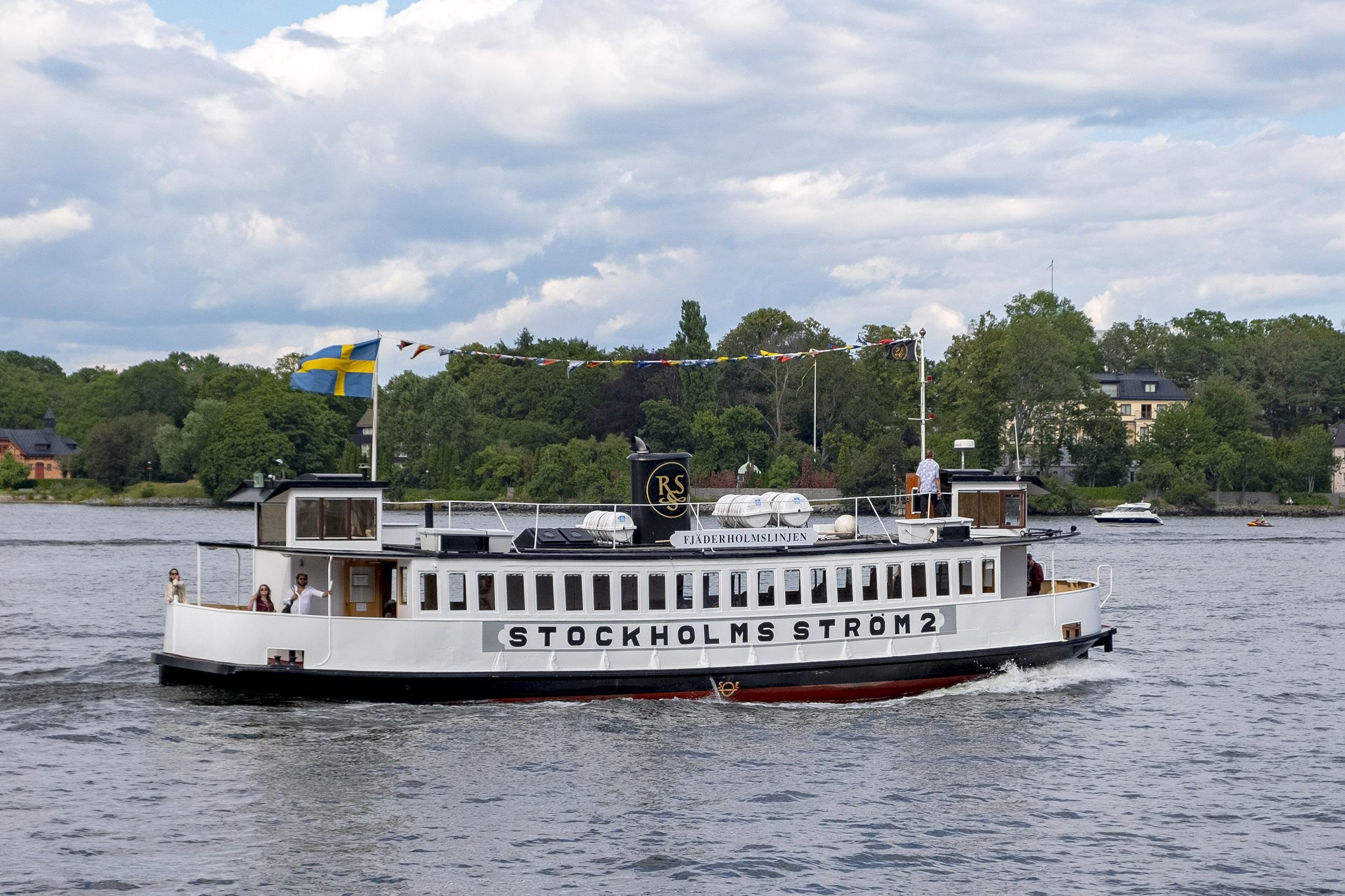 Stockholms ström båt