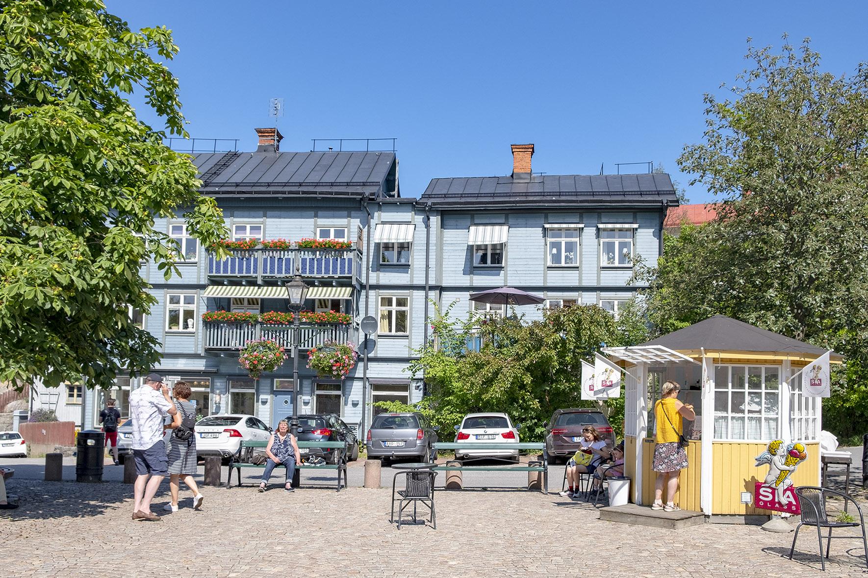 Torget i Vaxholm
