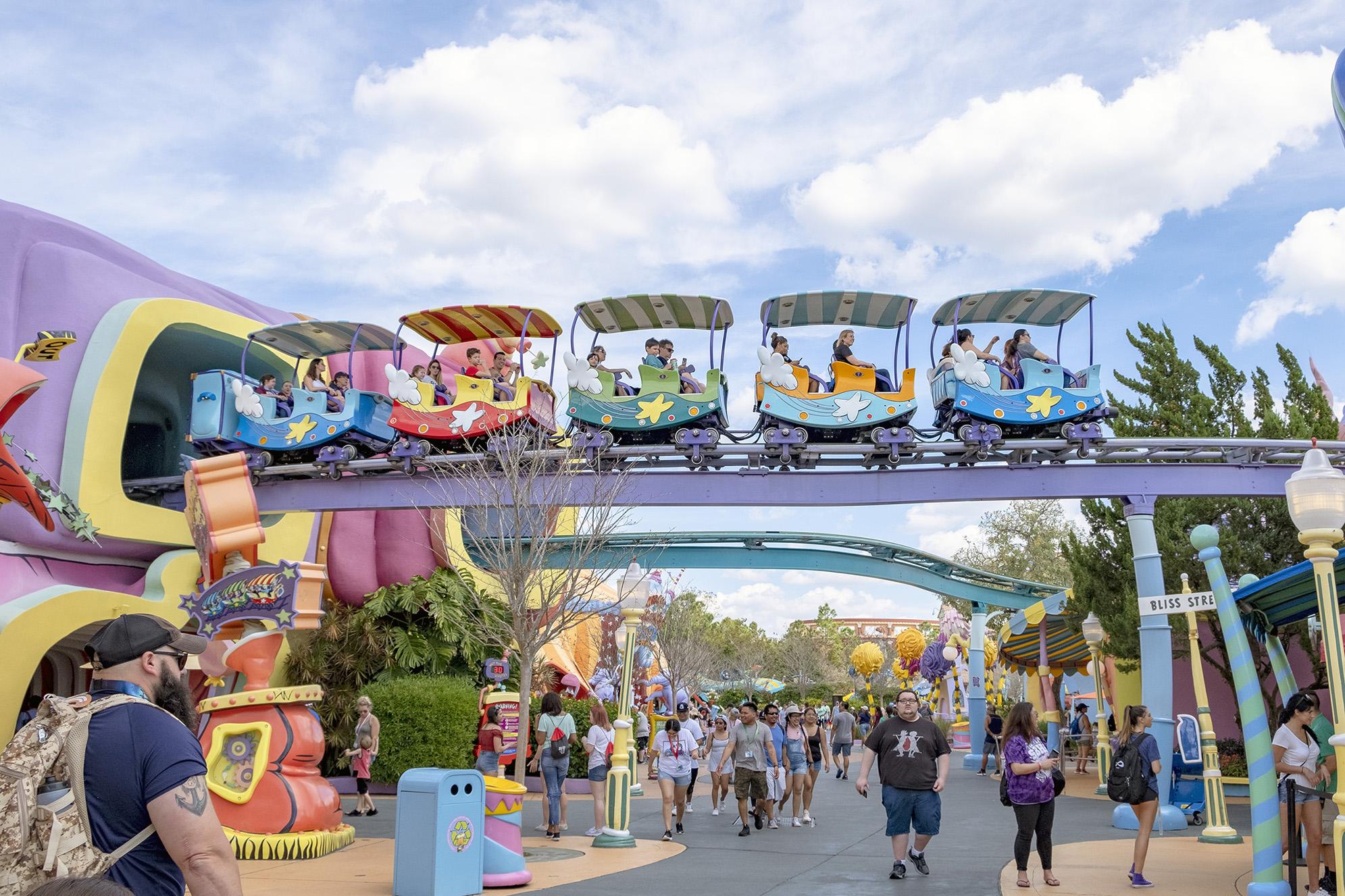Seuss Trolley Train Islands of Adventure