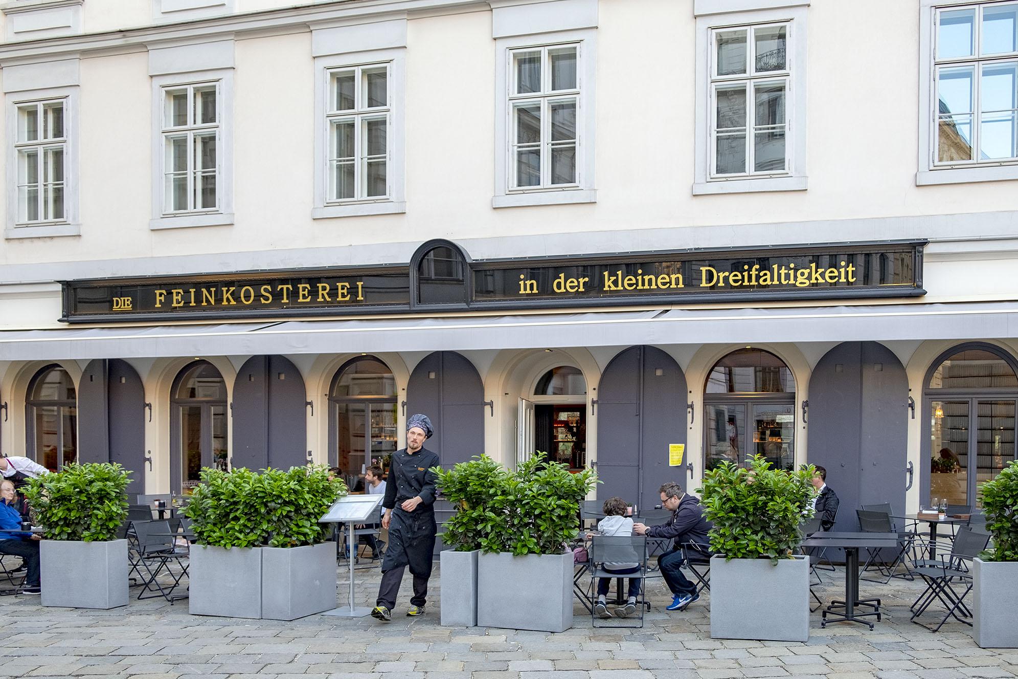Restaurangen Die Feinkosterei Wien