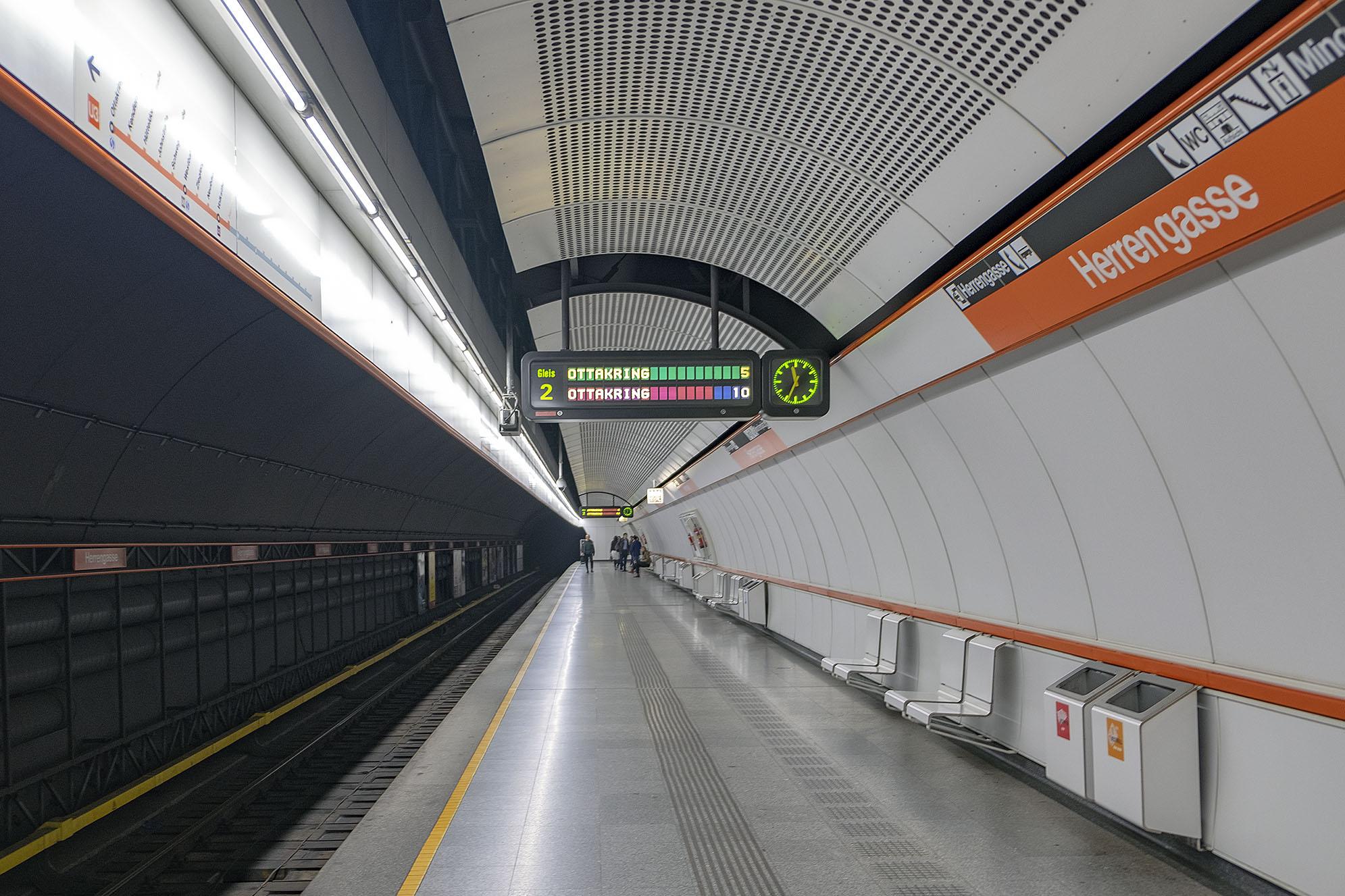 Tunnelbanestationen Herrengasse