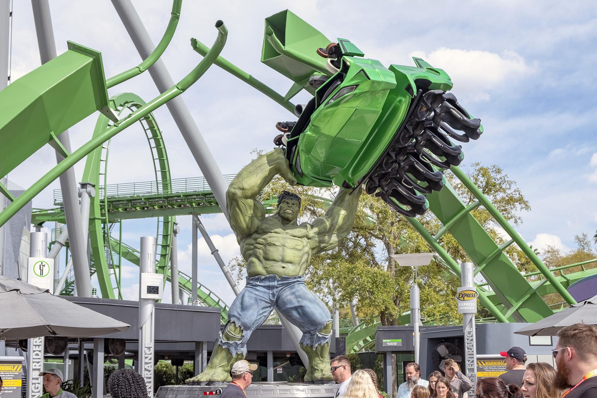 Hulk Coaster Islands of Adventure