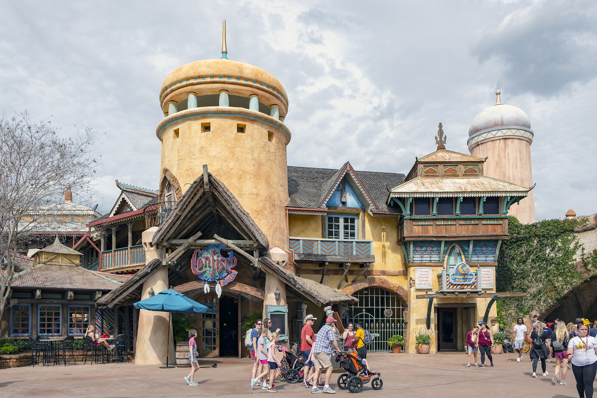 Port of entry islands of adventure