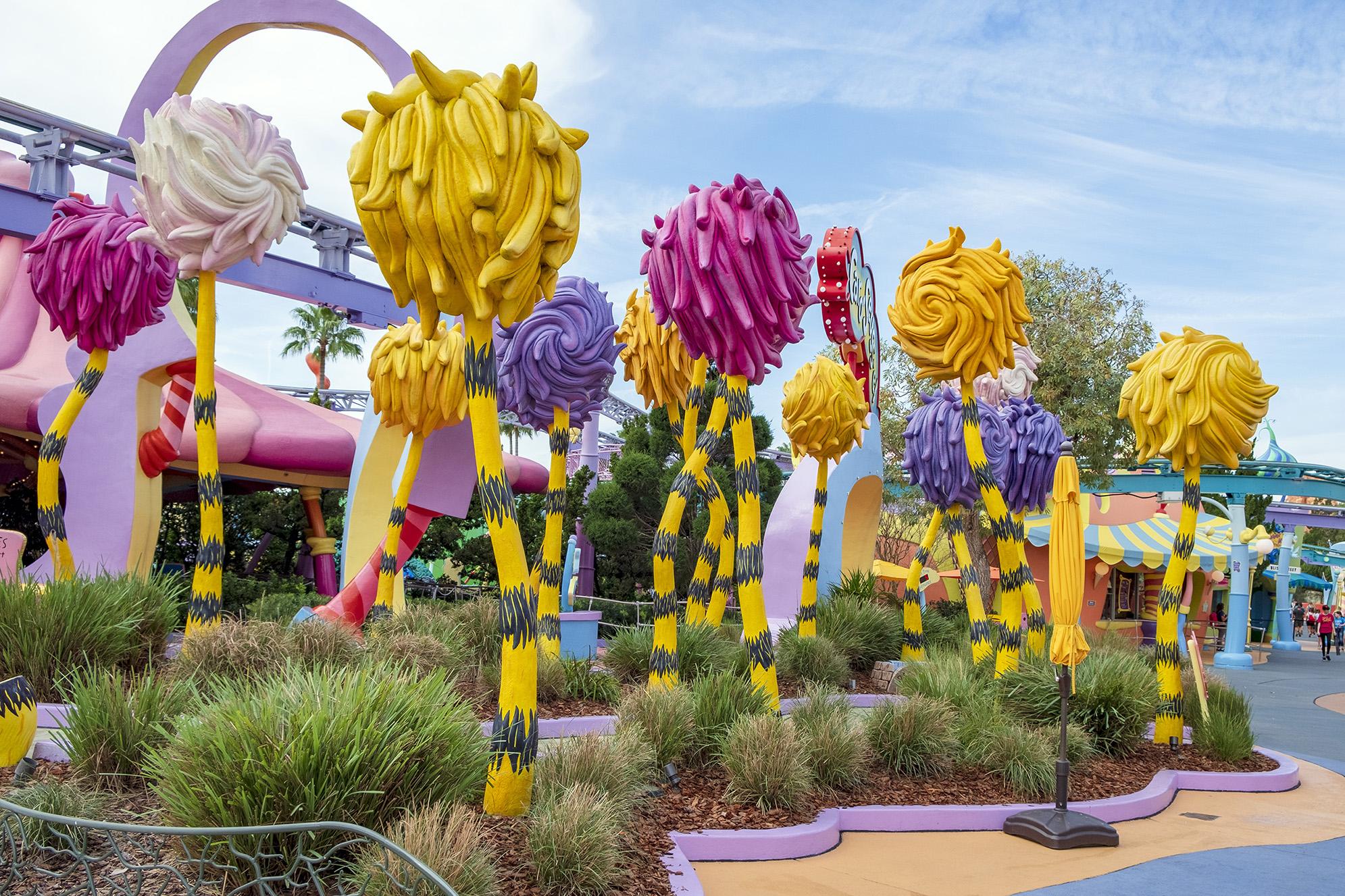 Lorax Seuss Landing Orlando