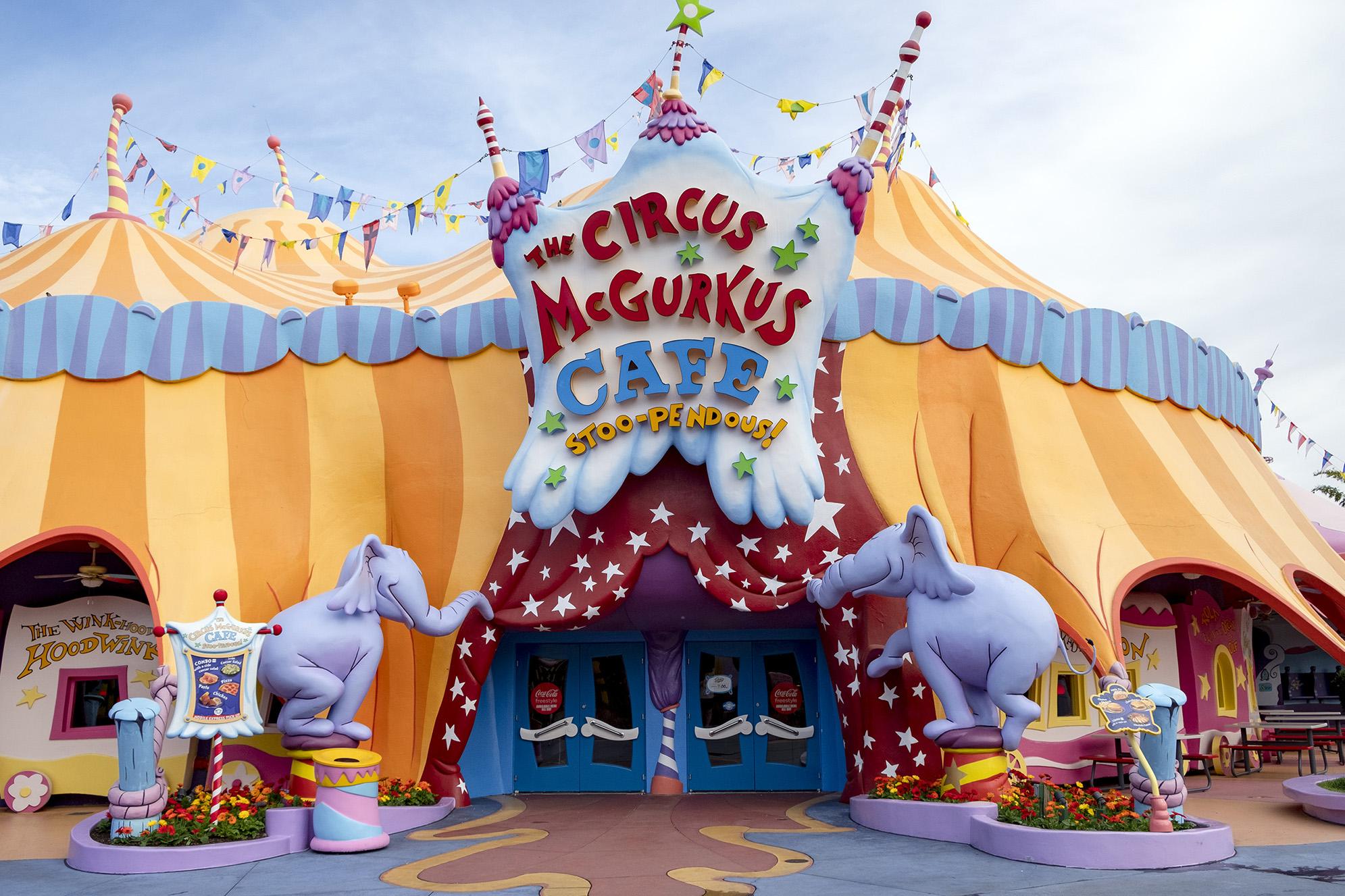 Seuss Landing Islands of Adventures