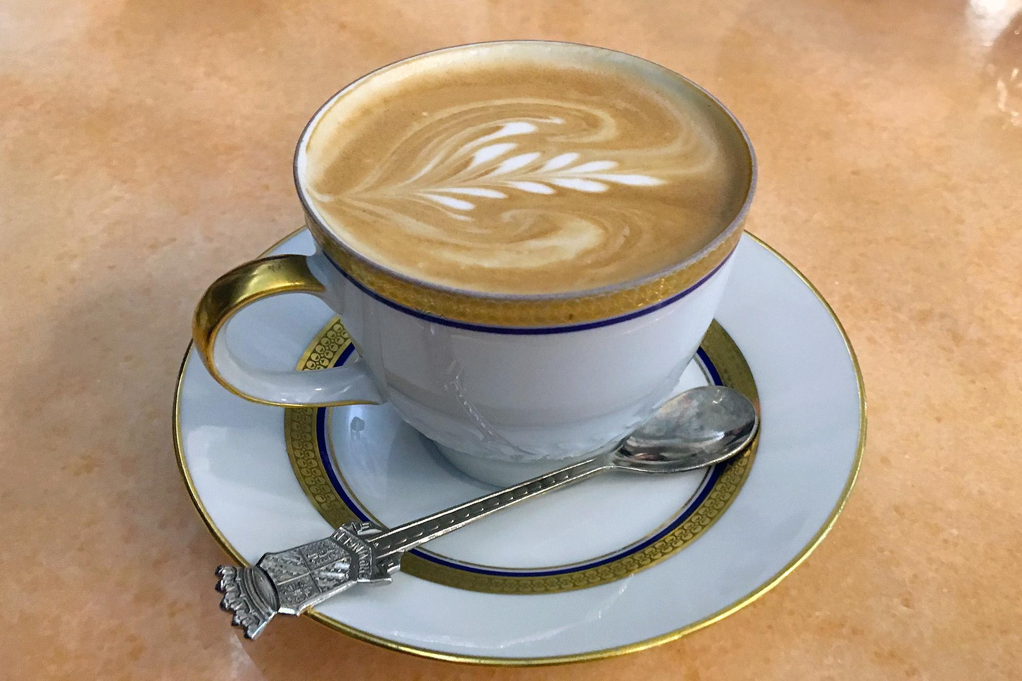 Konditorei Kormuth Bratislava Kaffe