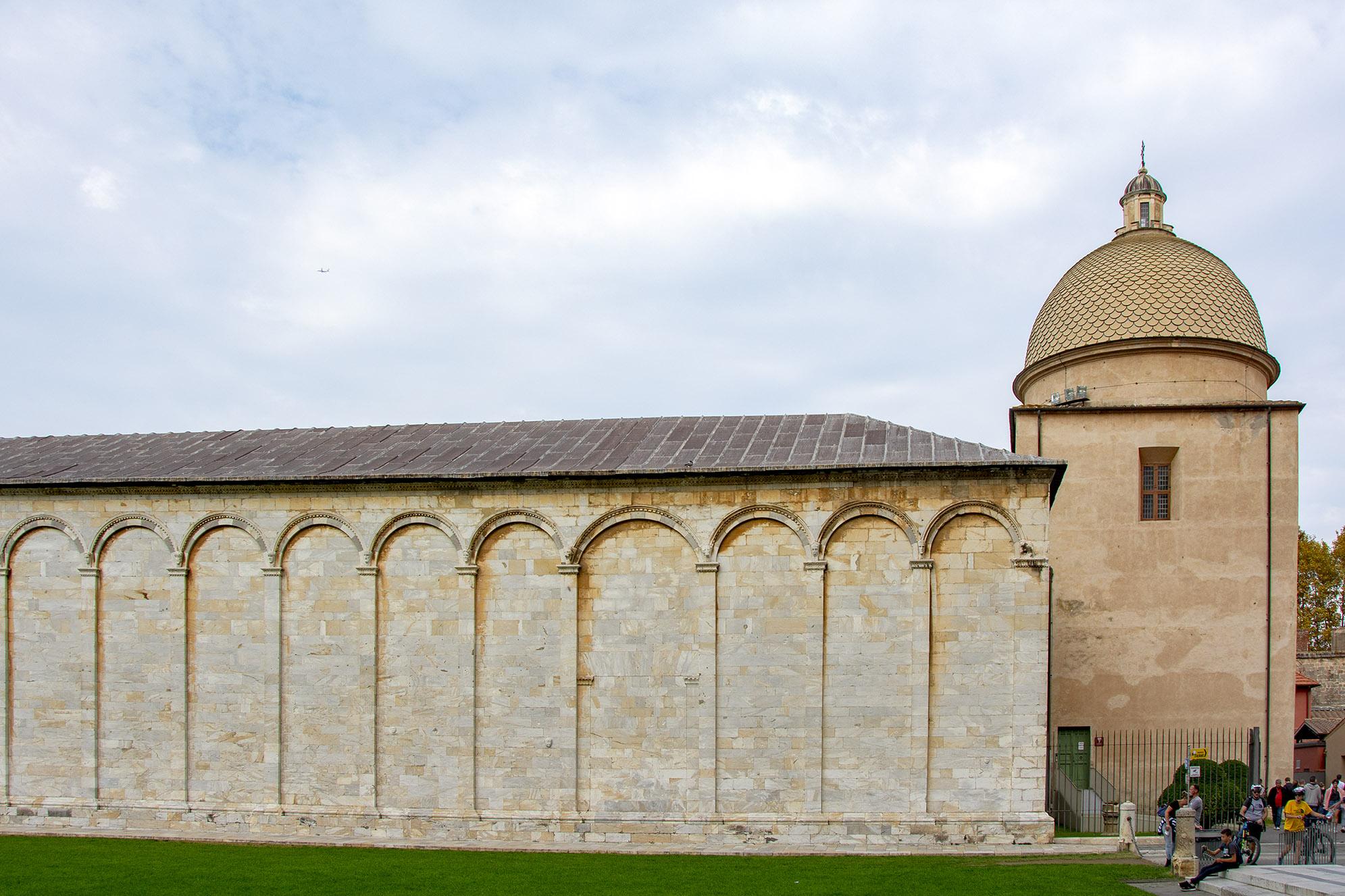 Kyrkogården Camposanto monumentale Pisa
